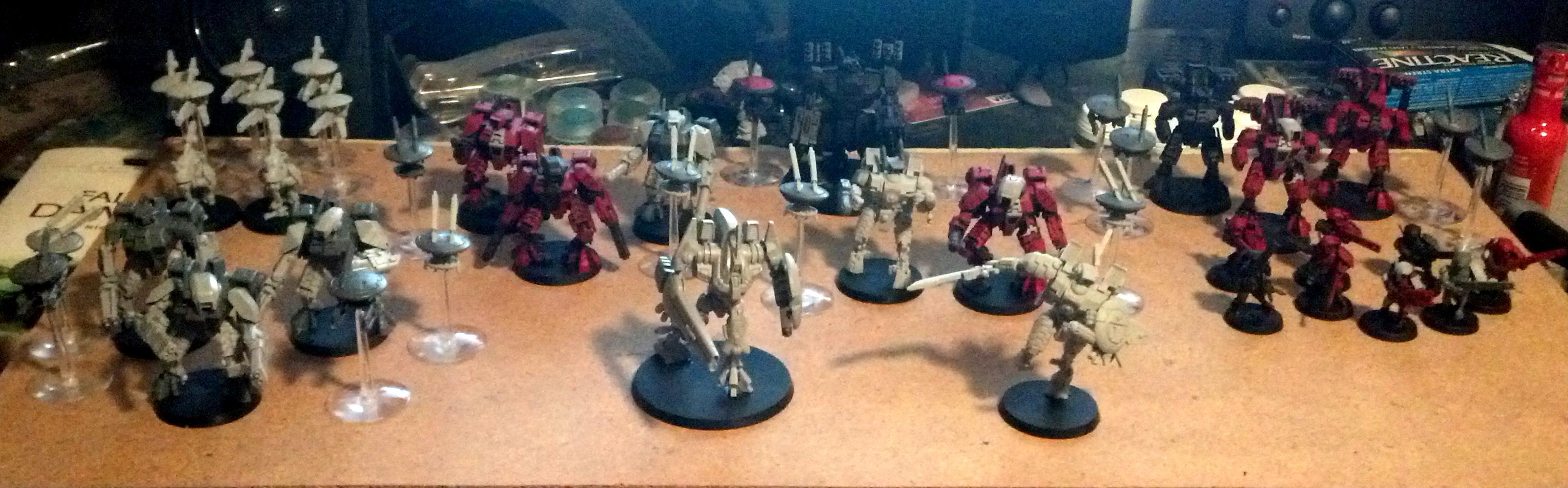 Crisis Battlesuit, Enclave, Farsight, XV8