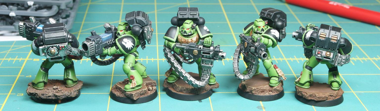 Devastator, Heavy Bolter, Plasma Cannon, Salamanders, Space Marines