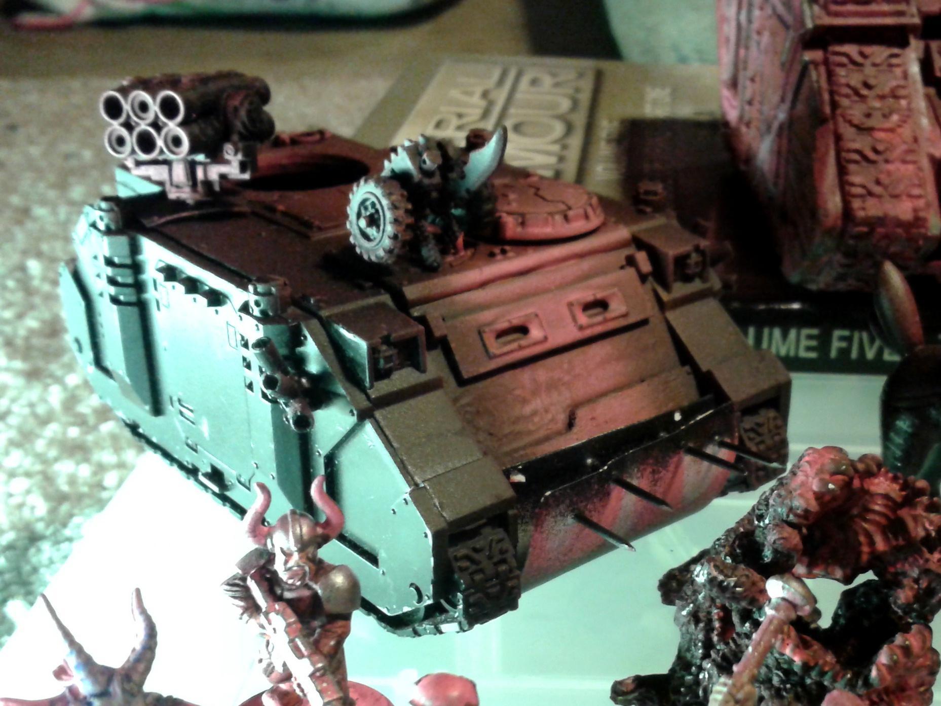 Destructor Blades, Pink, Rhino