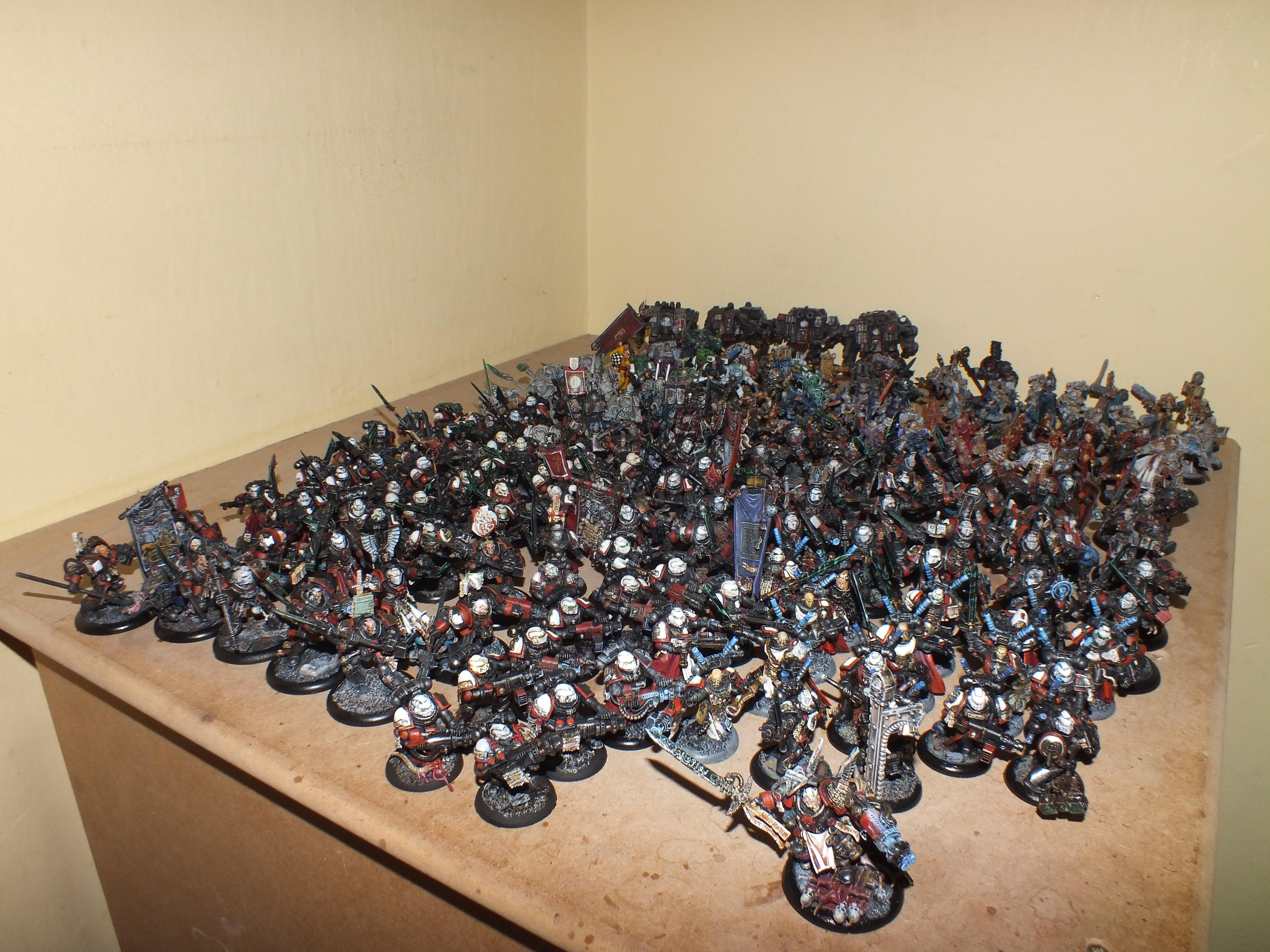 Grey Knights, Space Marines, Warhammer 40,000
