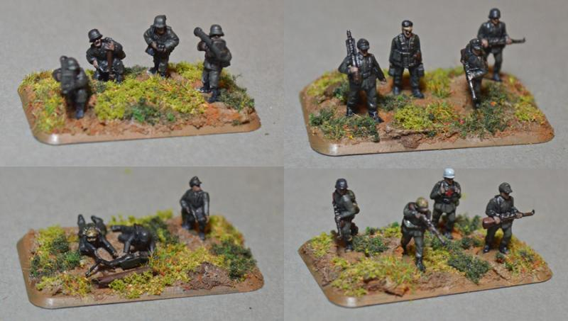 Germans, Grenadier, Late War, Panzergrenadiers, Peter Pig, Plastic Soldier Company