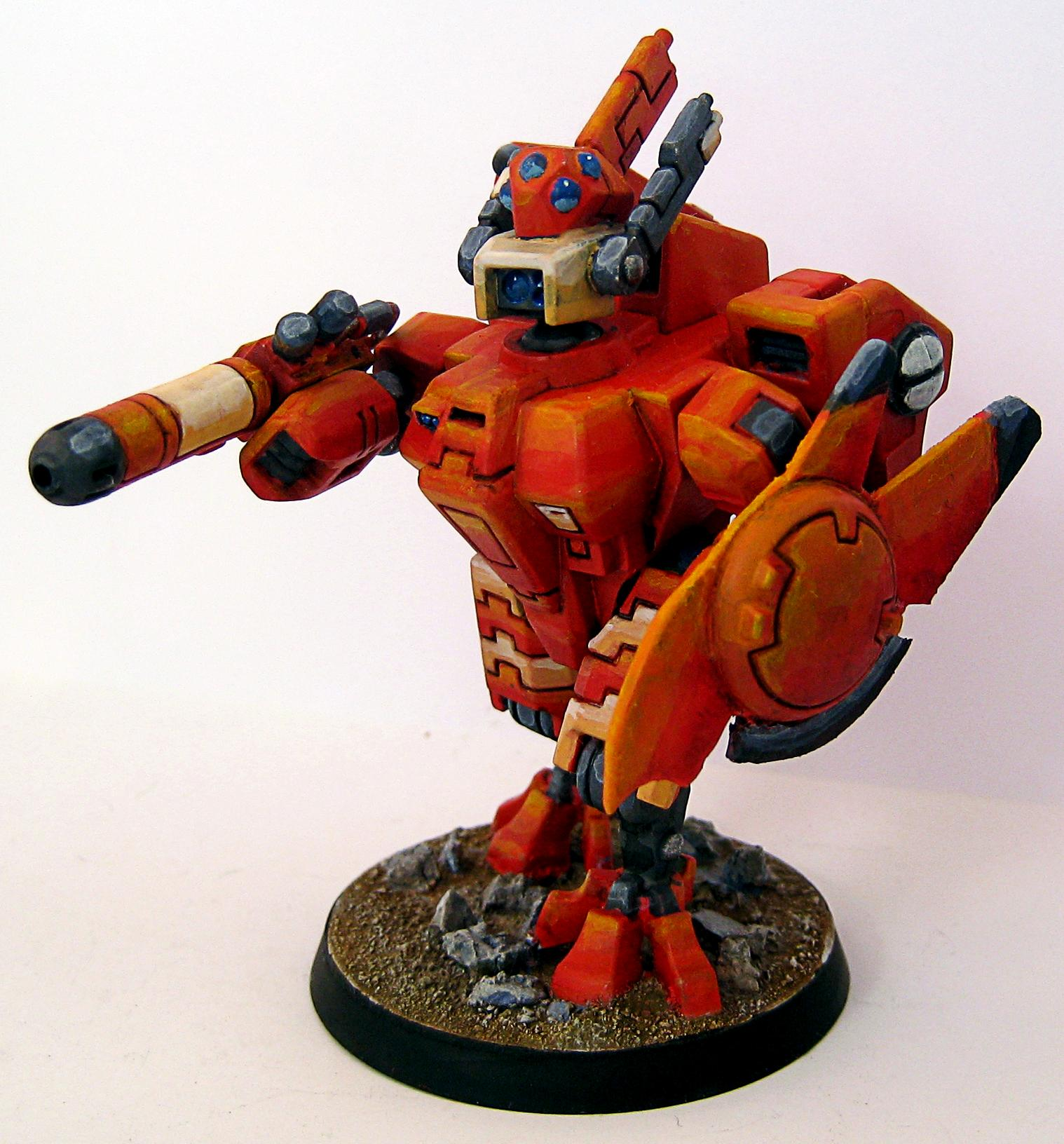 40k. Tau, Army, Battle, Crisis Battlesuit, Suit, Tau, Warhammer 40,000, Warhammer 40k. Tau Empire