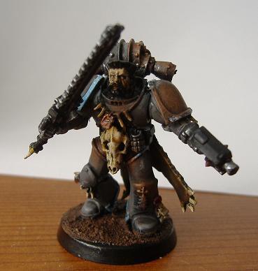 Long Fang Pack Leader, Skyrar's Dark Wolves, Space Wolves