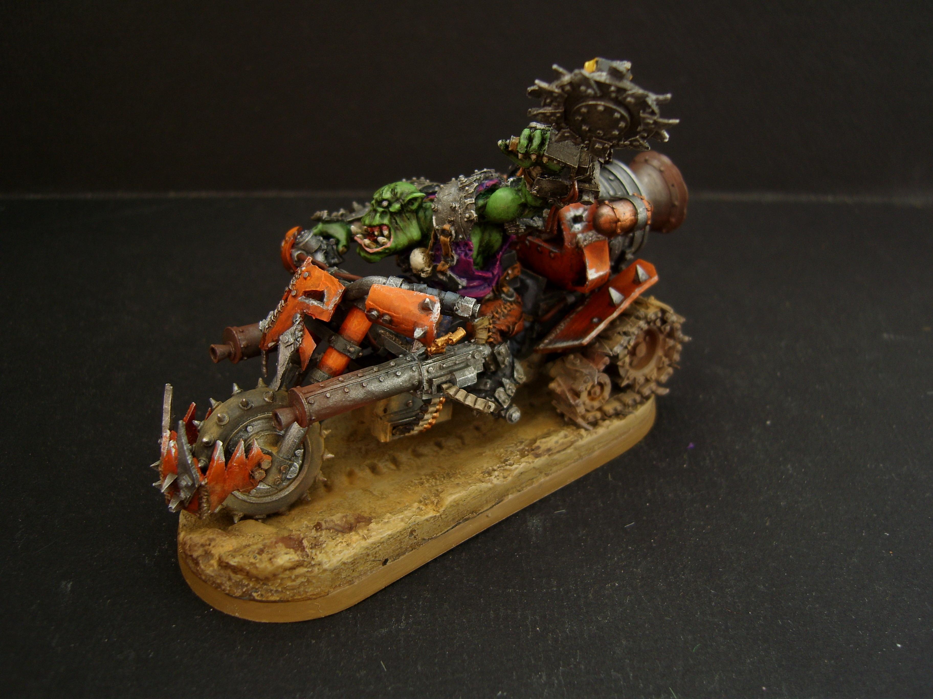 Orcs, Warbike, Warboss