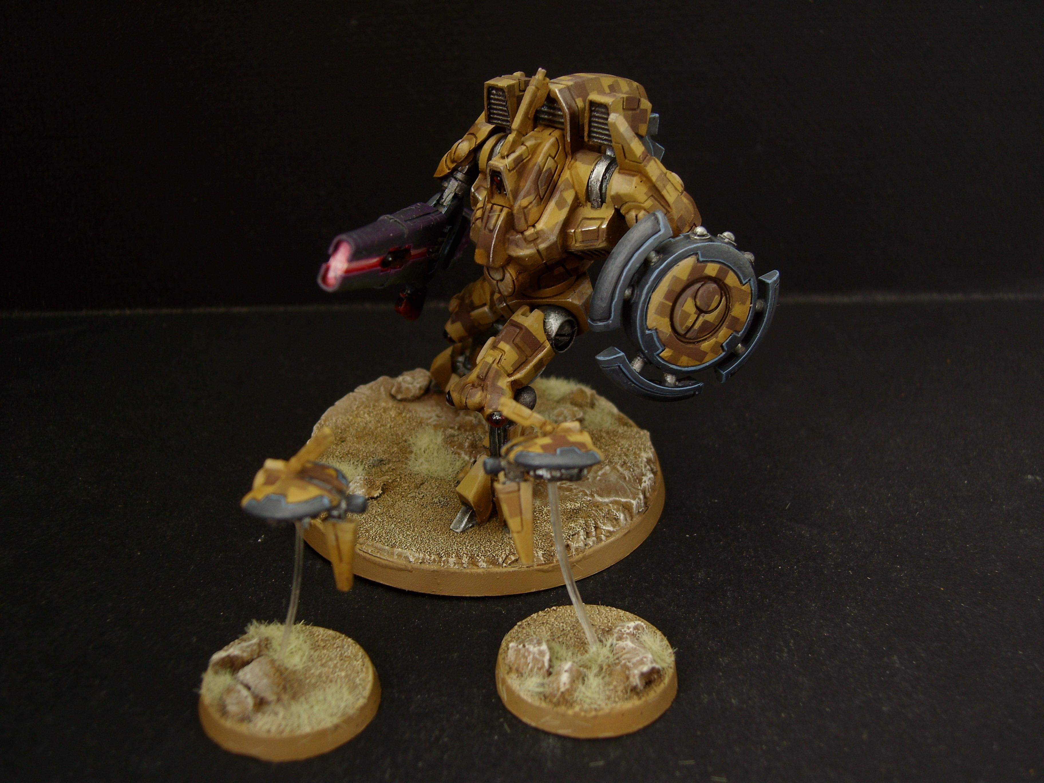 Battlesuit, Commander, Tau