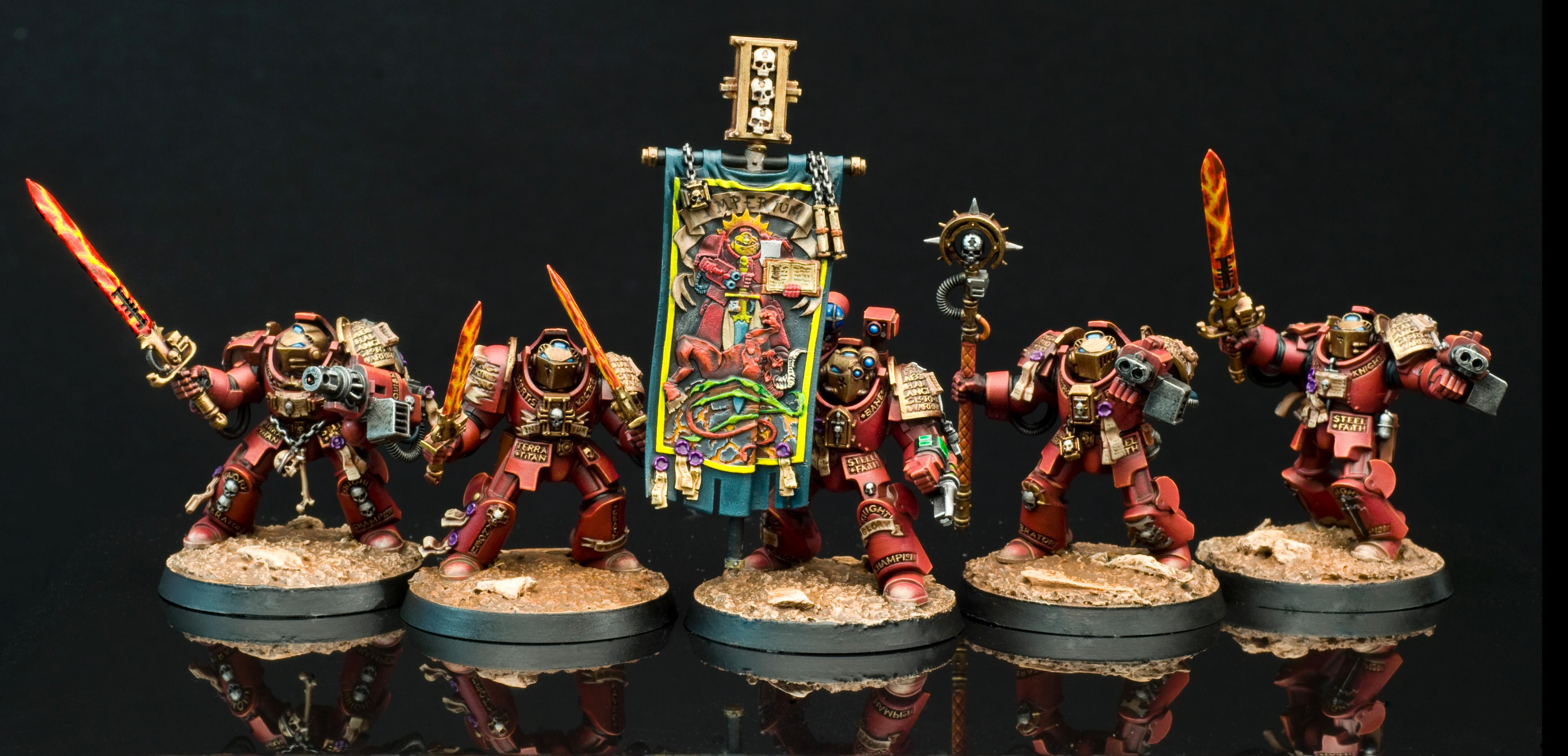 Germinators, Grey Knight Terminators, Grey Knights, Space Marines, Warhammer 40,000