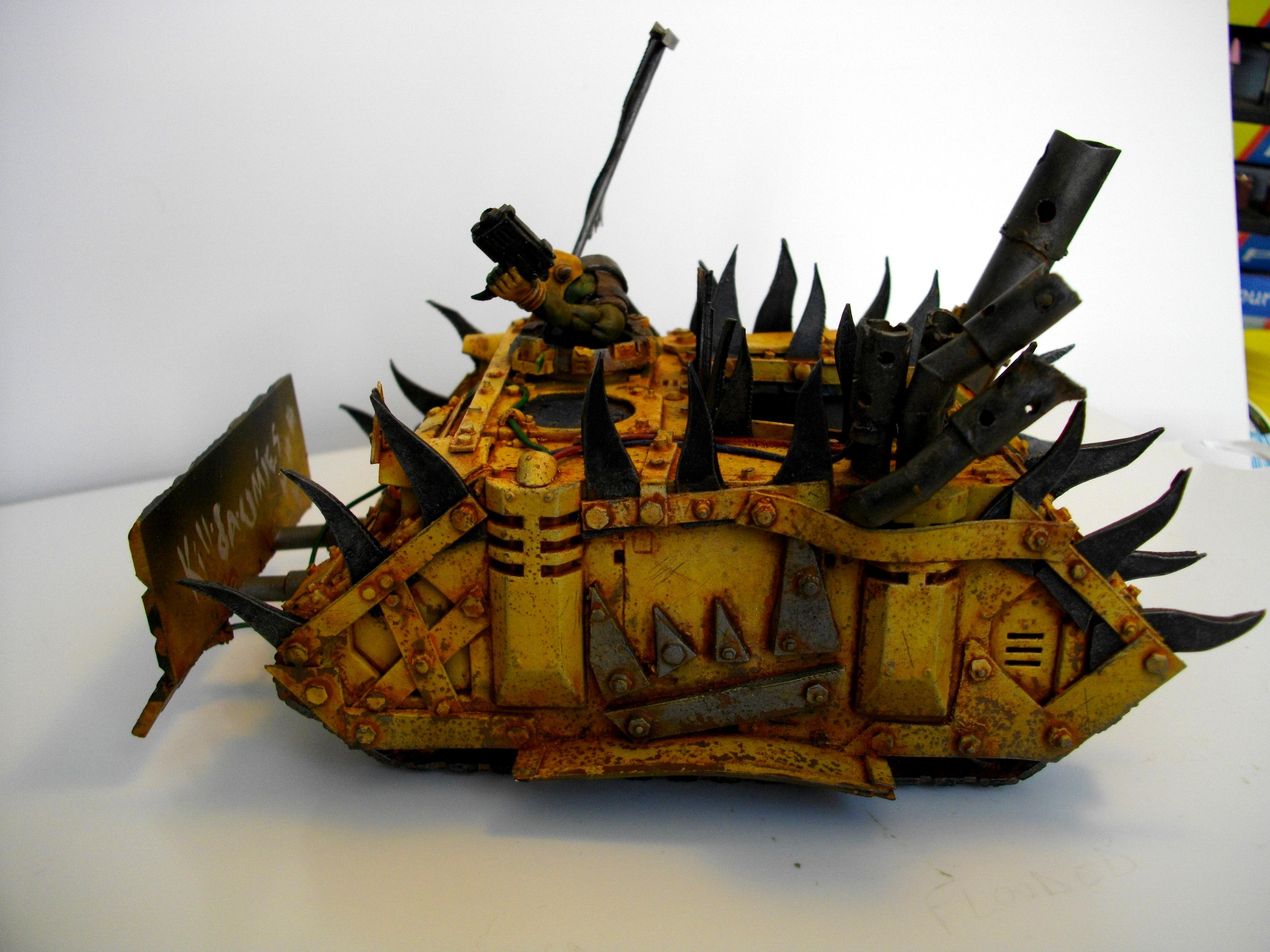Looted, Orks, Orks Forge, Plasticard