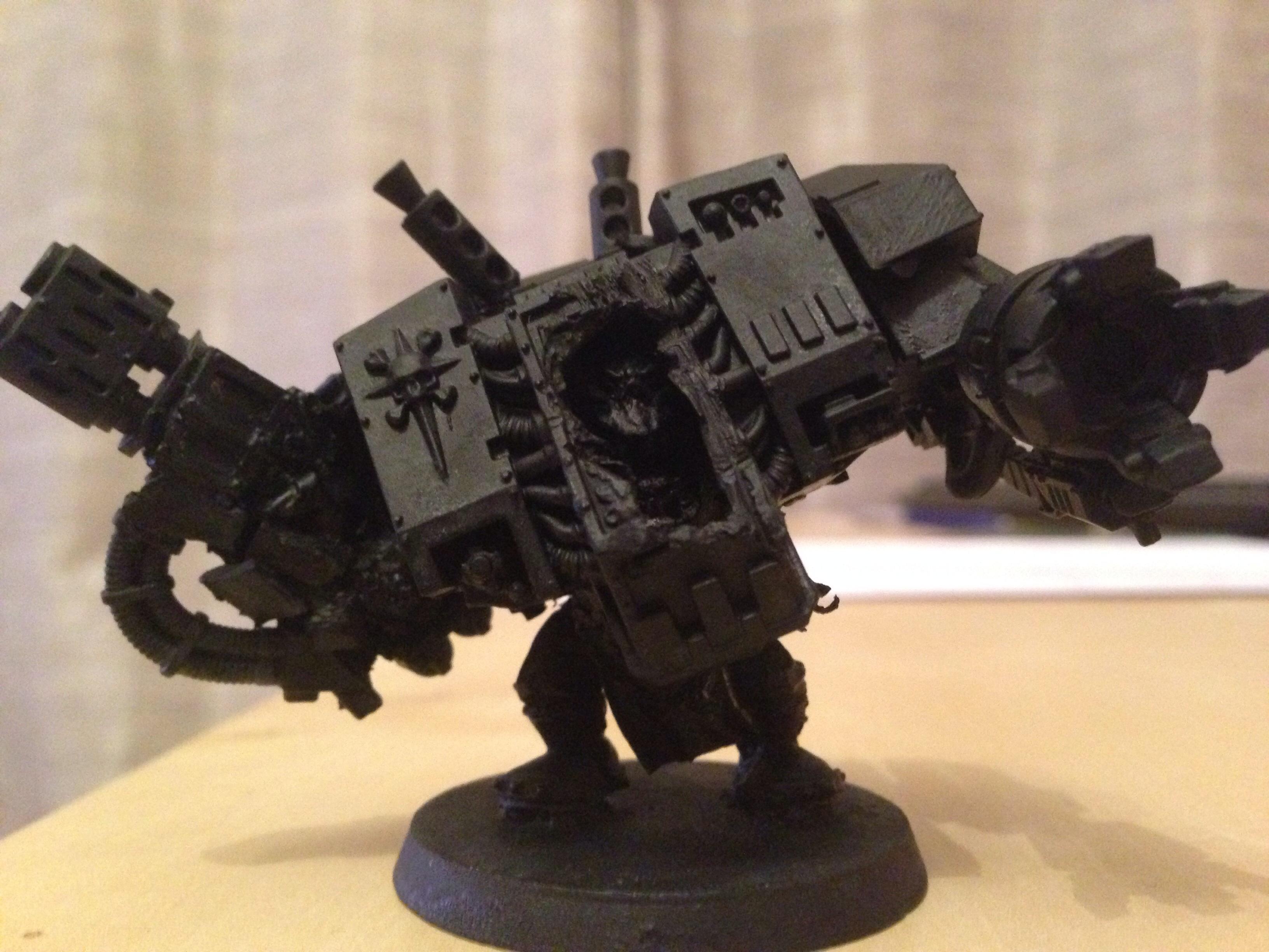 Conversion, Deff Dread, Dreadnought, Mega, Meganob, Orks, Warhammer 40,000