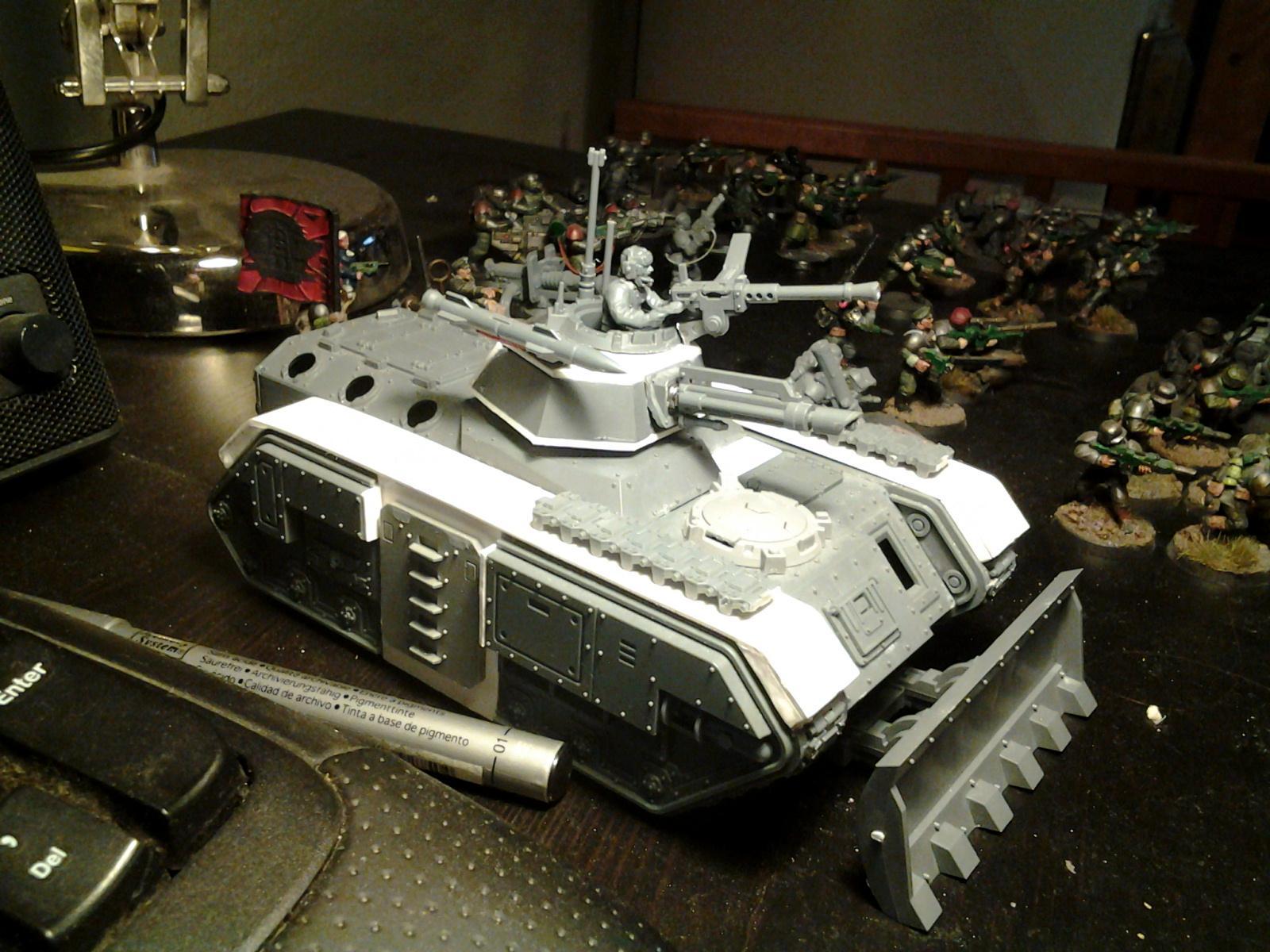 Chimera, Conversion, Imperial Guard, Kitbash, Panzer, Tank, Warhammer 40,000, World War 2