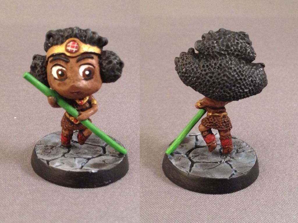 Acrobat, Chibi, Chibi Adventures, Impact! Miniatures, Sd