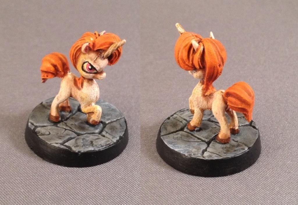 Baby Unicorn, Chibi, Chibi Adventures, Impact! Miniatures, Sd