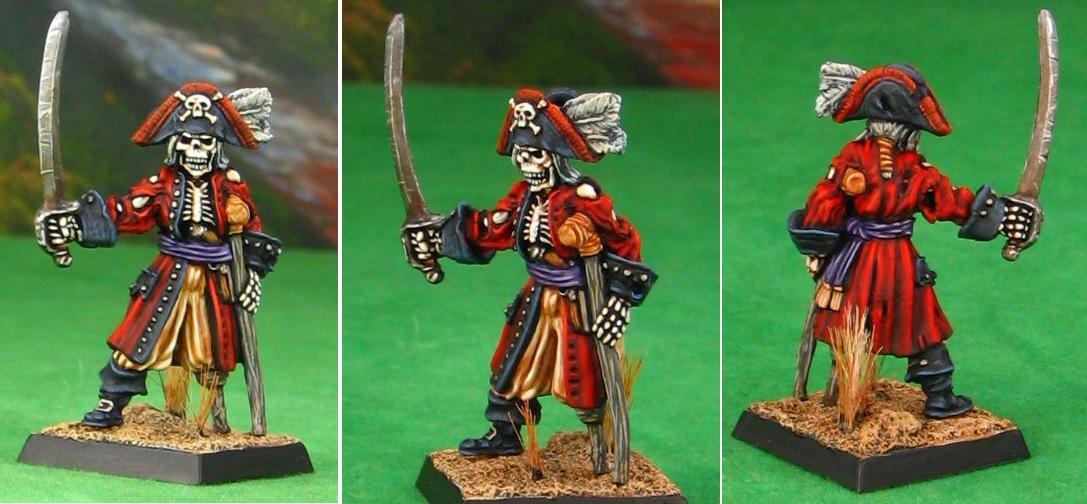Pirate, Pirates, Reaper Models, Warhammer Fantasy