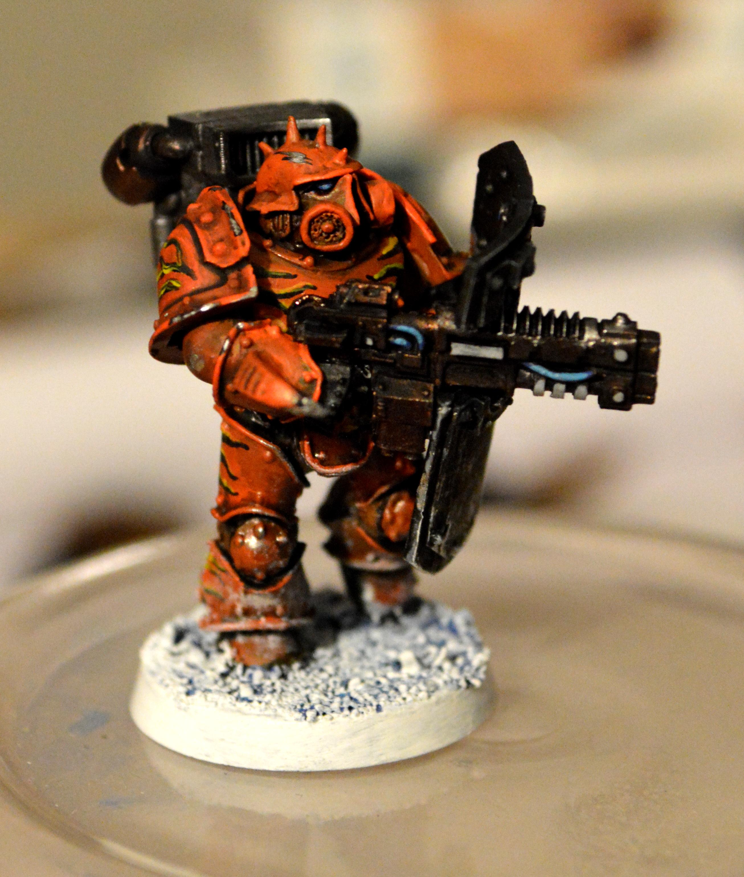 Badab War, Ice World, Jump Pack, Space Marines, Tiger Claws, Volkite, Warhammer 40,000