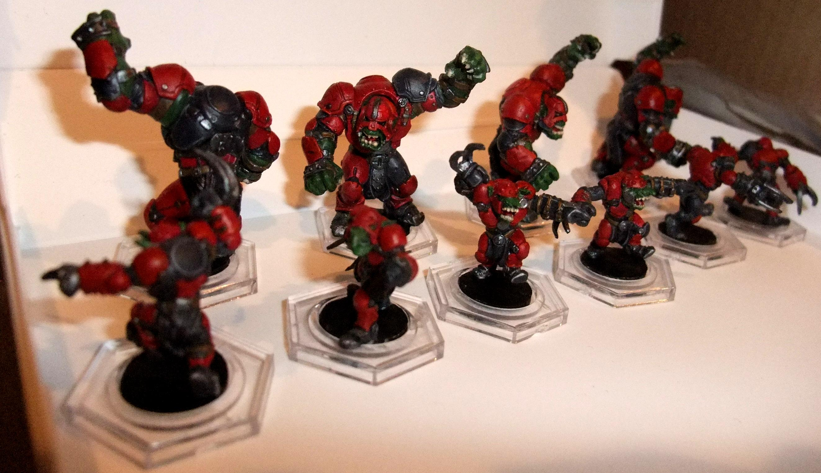 Dreadball, Greenmoon Smackers, Orx
