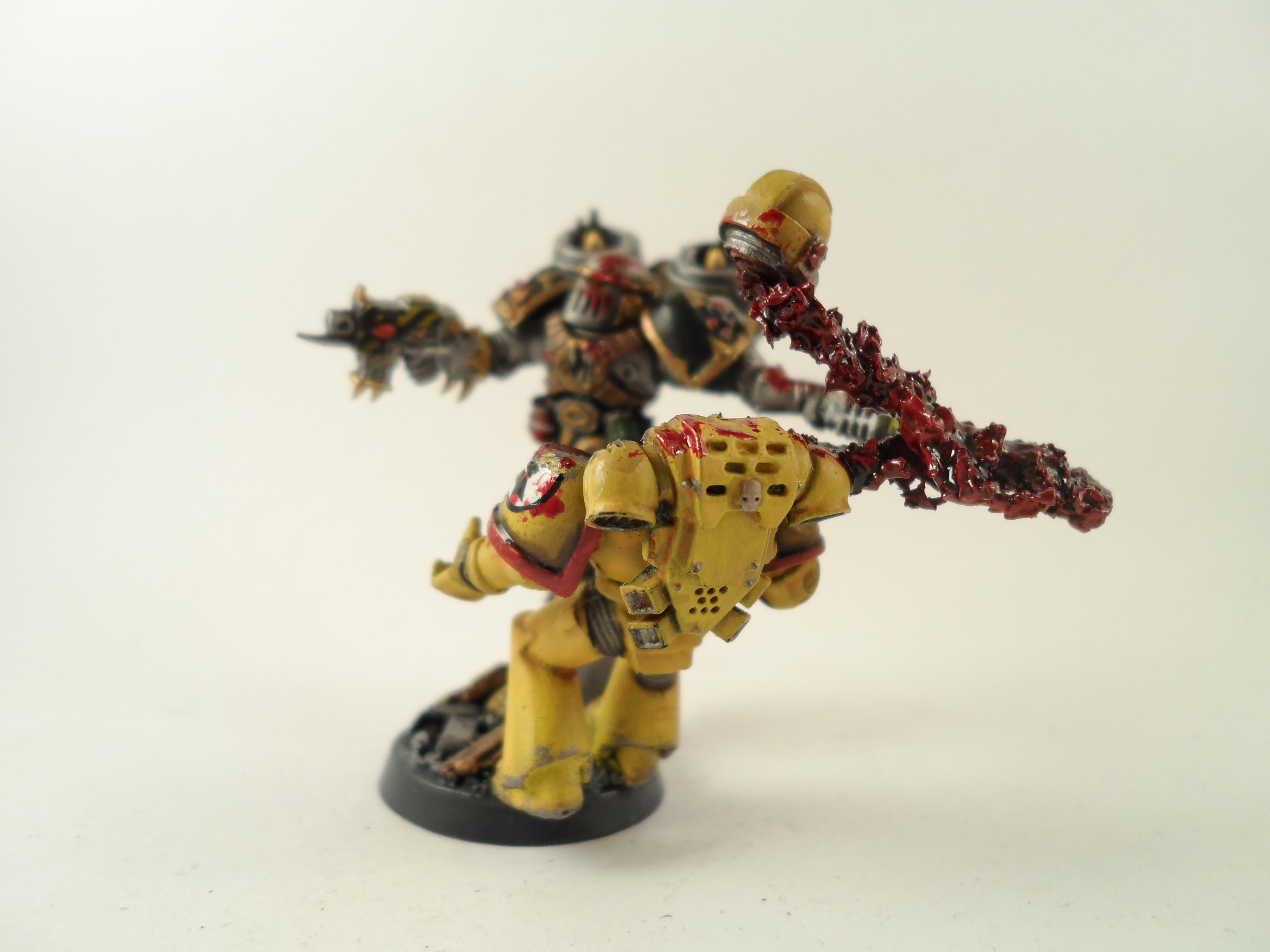 Chaos Space Marines, Heretics, Imperial Fists, Raptors
