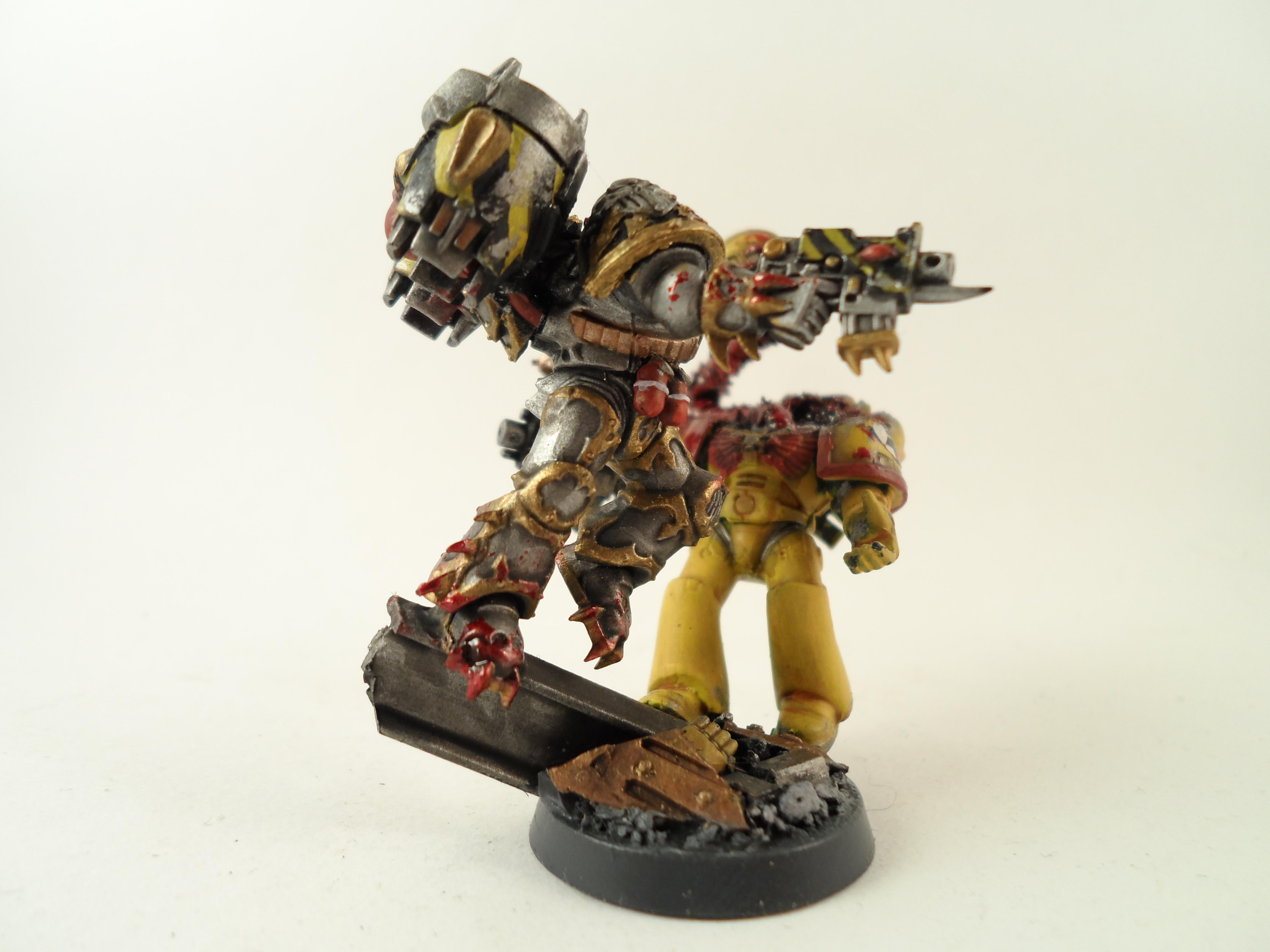 Imperial Fists, Iron Warriors, Jump Infantry, Warhammer 40,000