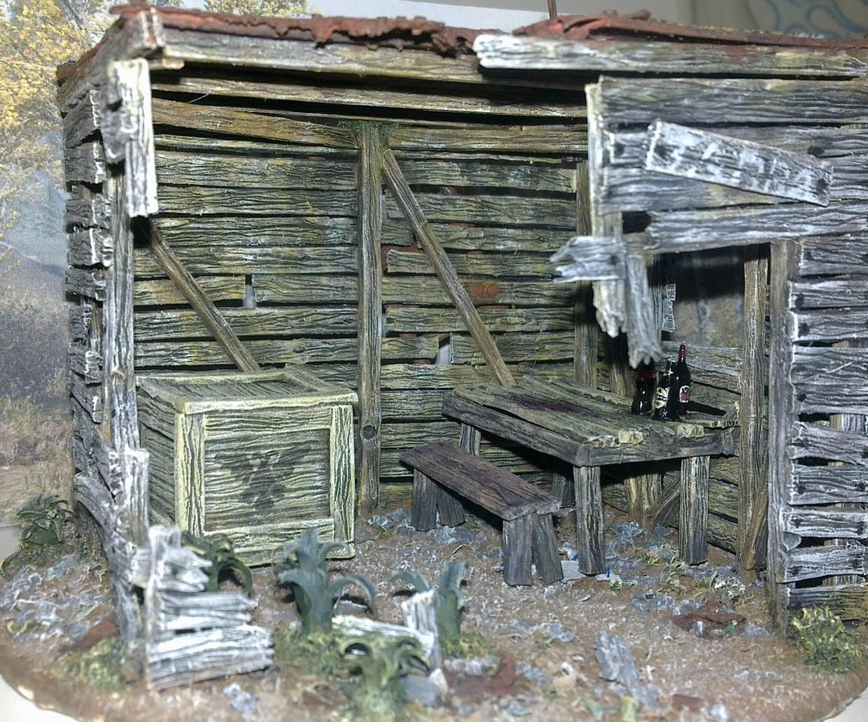 Scratch Build, Shack, Terrain