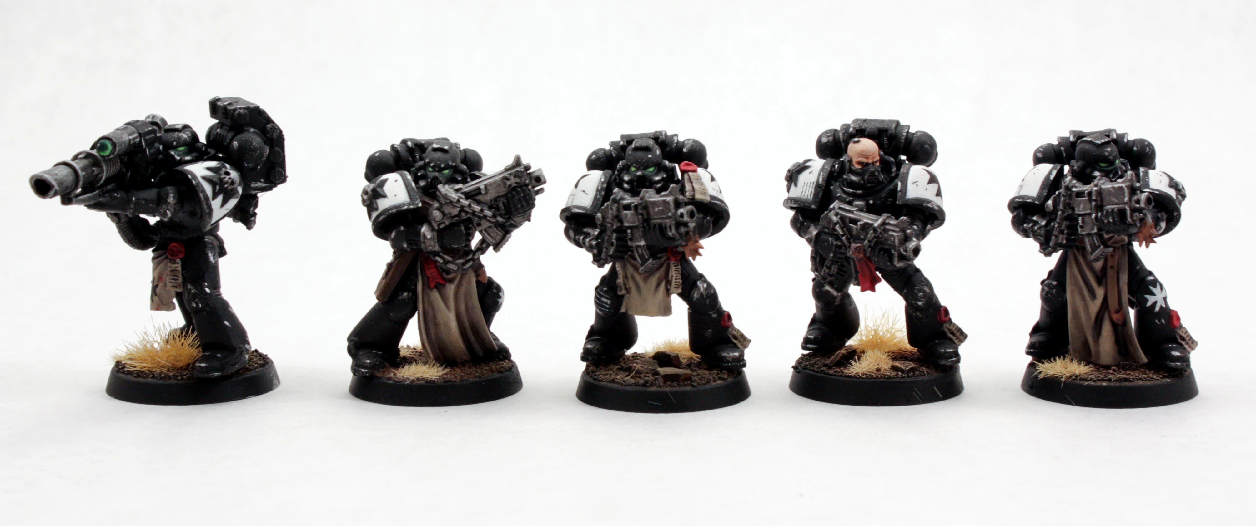 Black, Crusader, Space Marines, Tactical, Templars