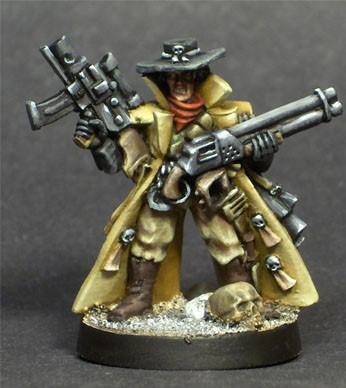 Bounty Hunter, Imperial Guard, Necromunda, Overkill