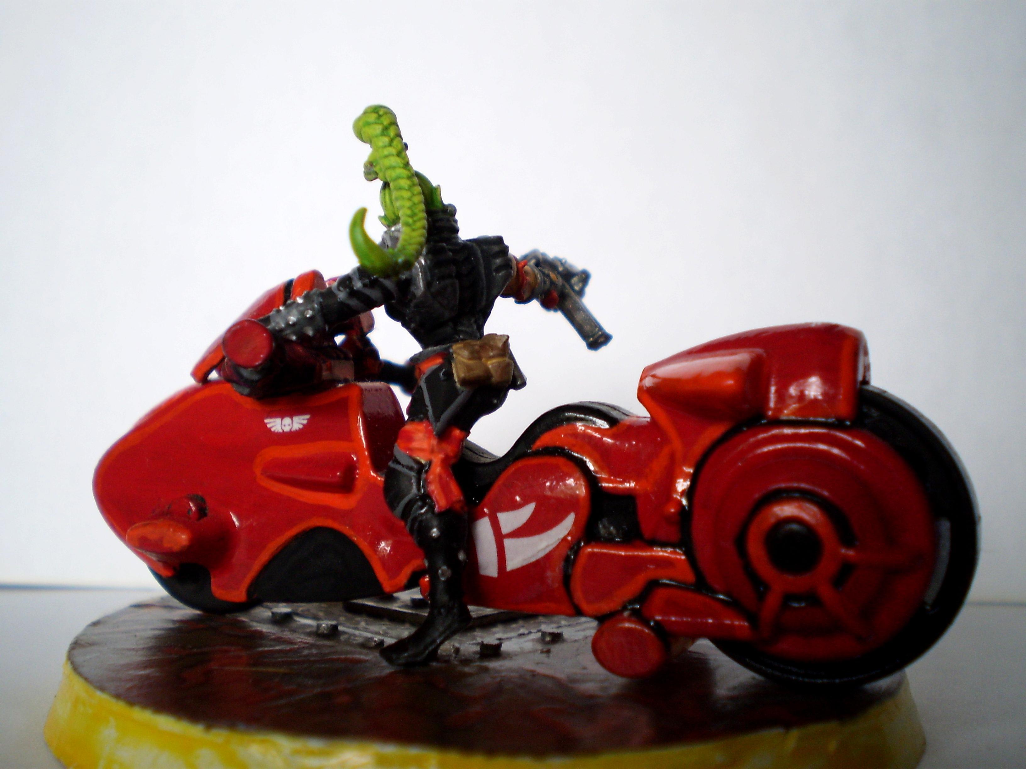 Bad Ass, Bike, Biker Chick, Necropocalypse