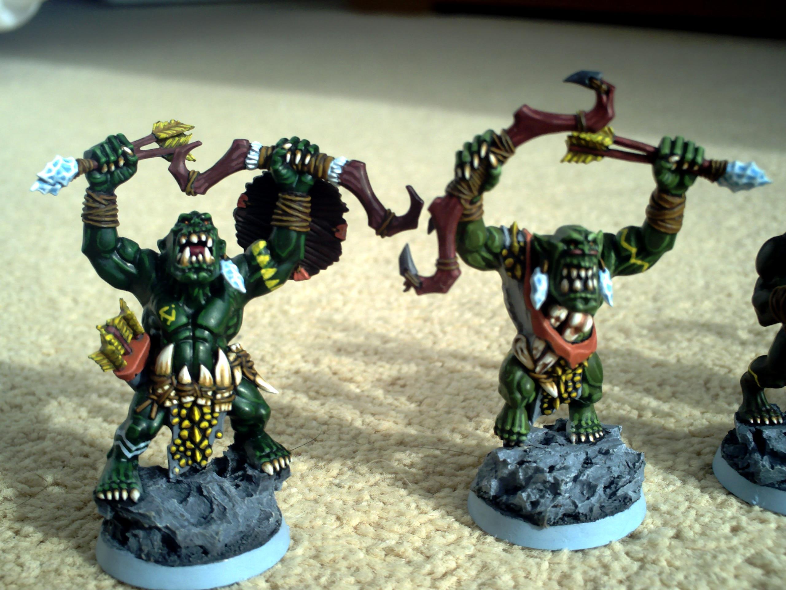 Feral, Orcs, Savage, Boyz 1 + 2 (front)