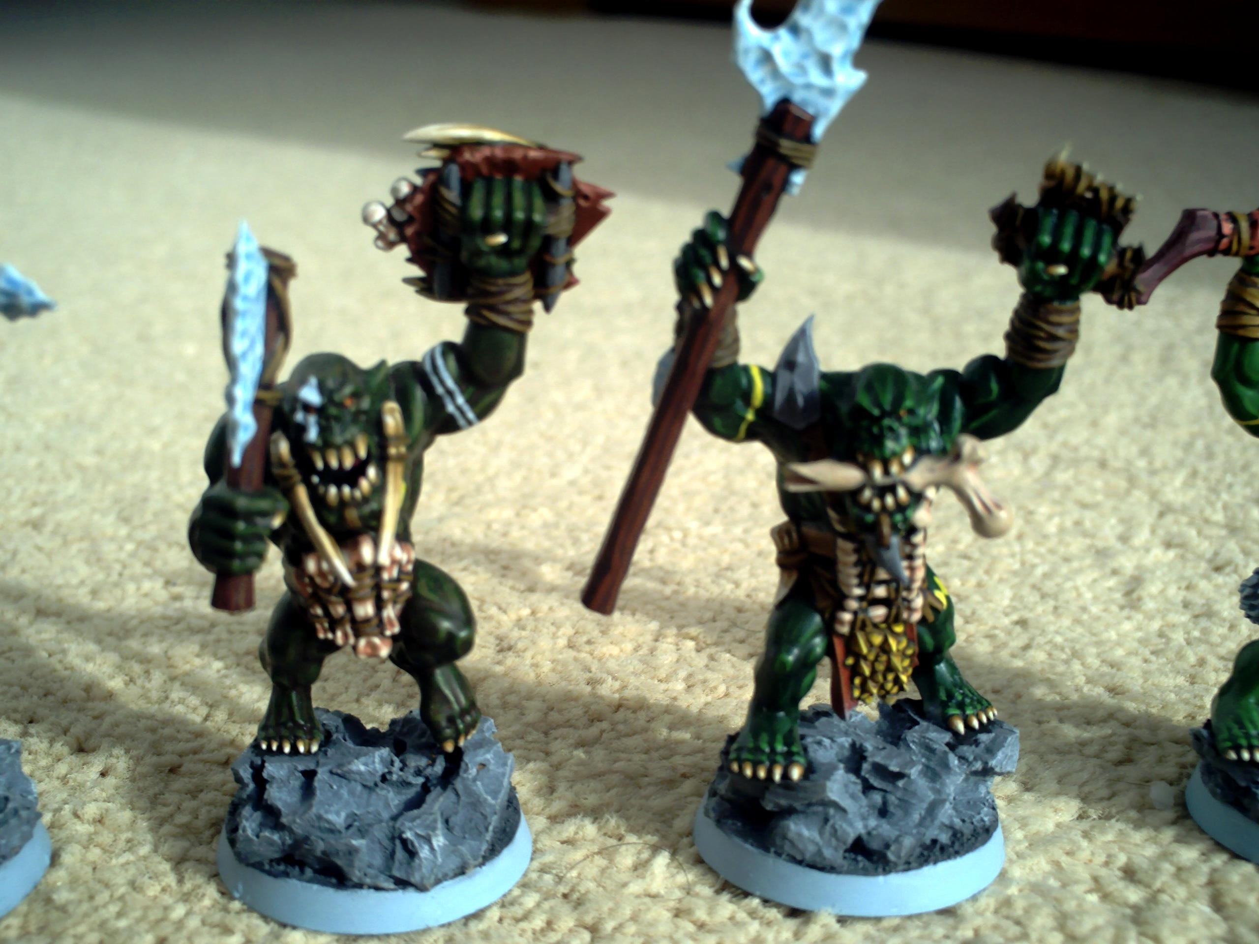 Feral, Orcs, Savage, Boyz 3 + 4 (front)