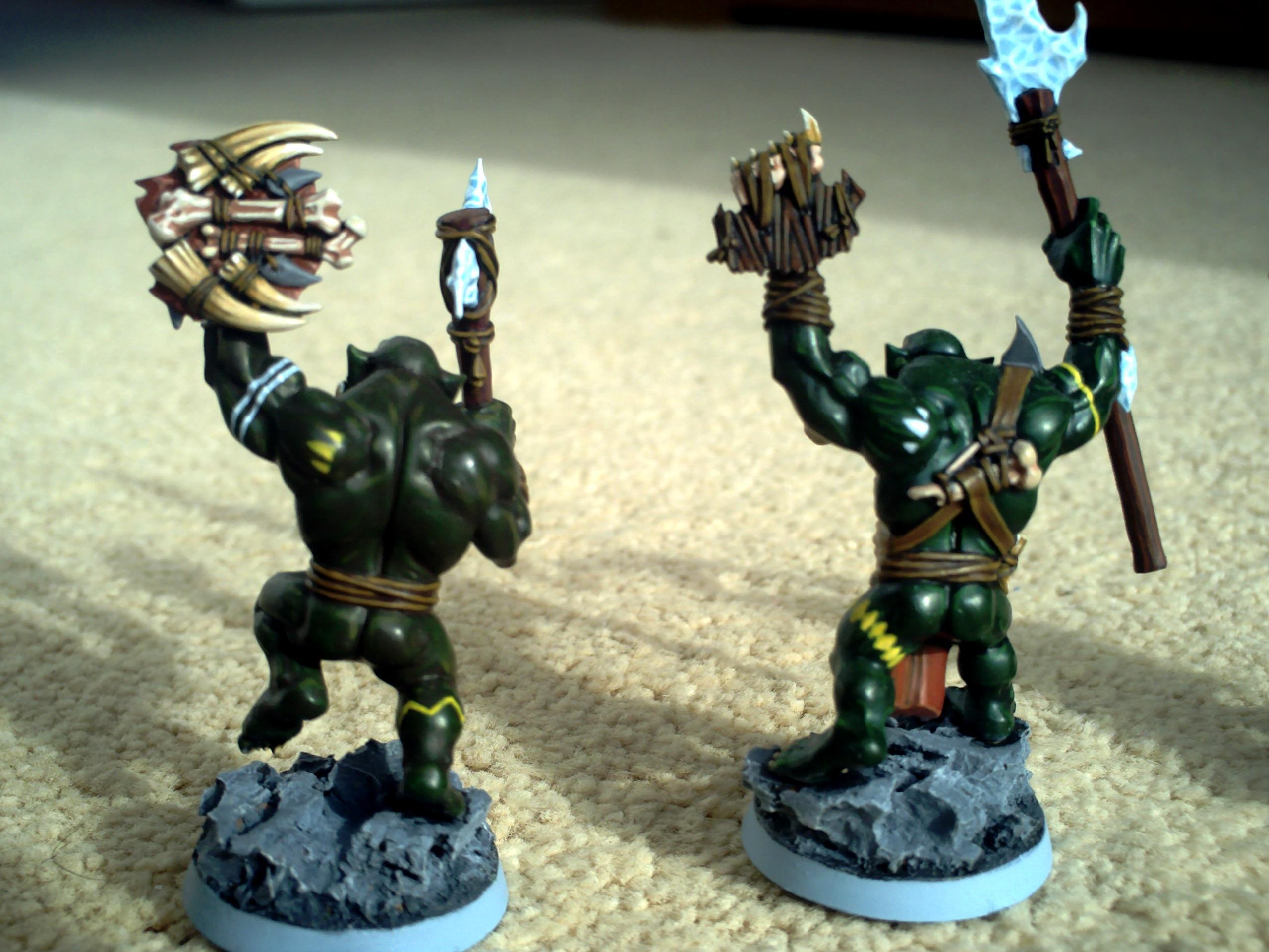 Feral, Orcs, Savage, Boyz 3 + 4 (back)