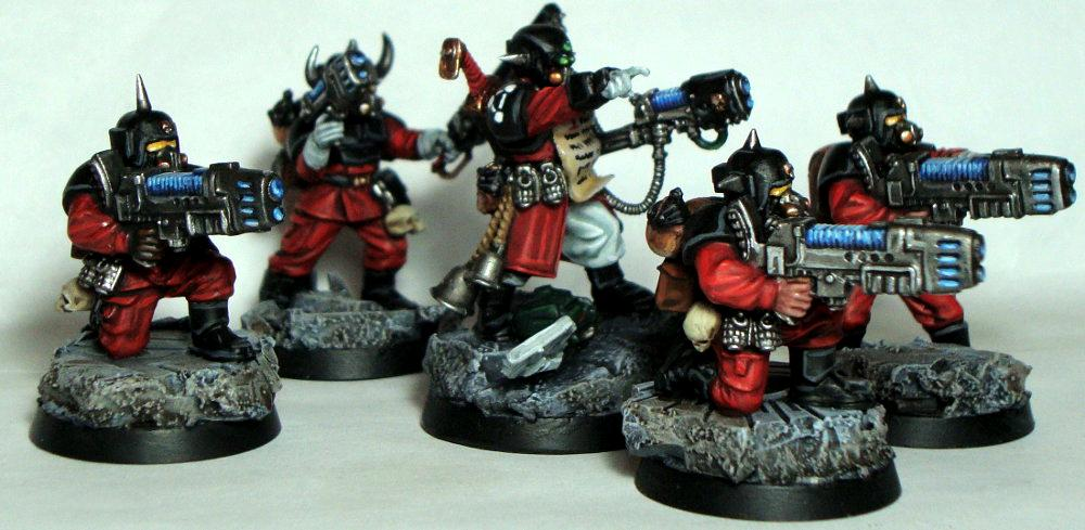 Chaos, Command Squad, Imperial Guard, Lost And The Damned, Red Rebellion Truthbringers, Renegade, Traitor