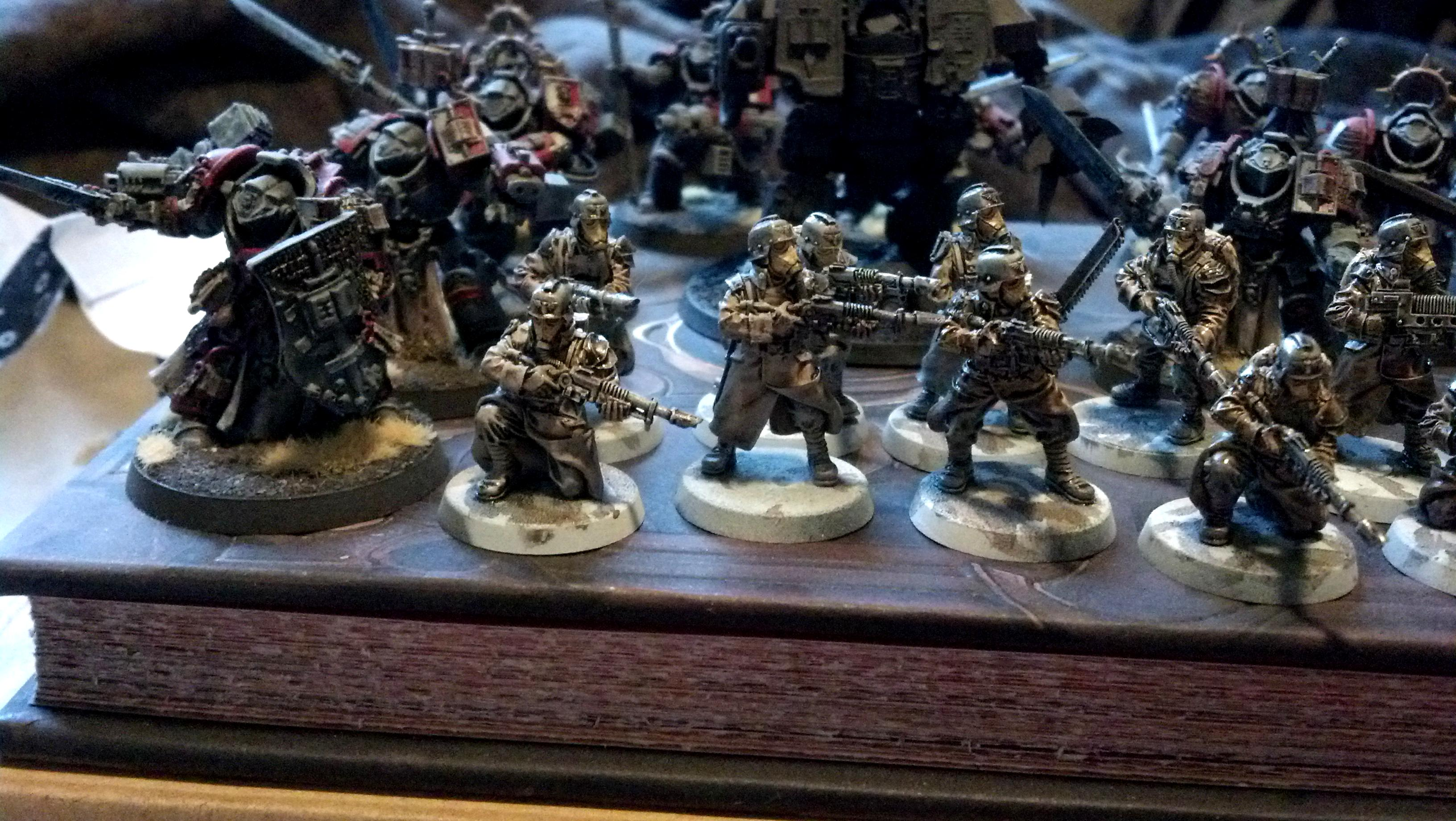 Death Korps of Krieg, Forge World, Games Workshop, Gk, Imperial, Painted, Warhammer 40,000