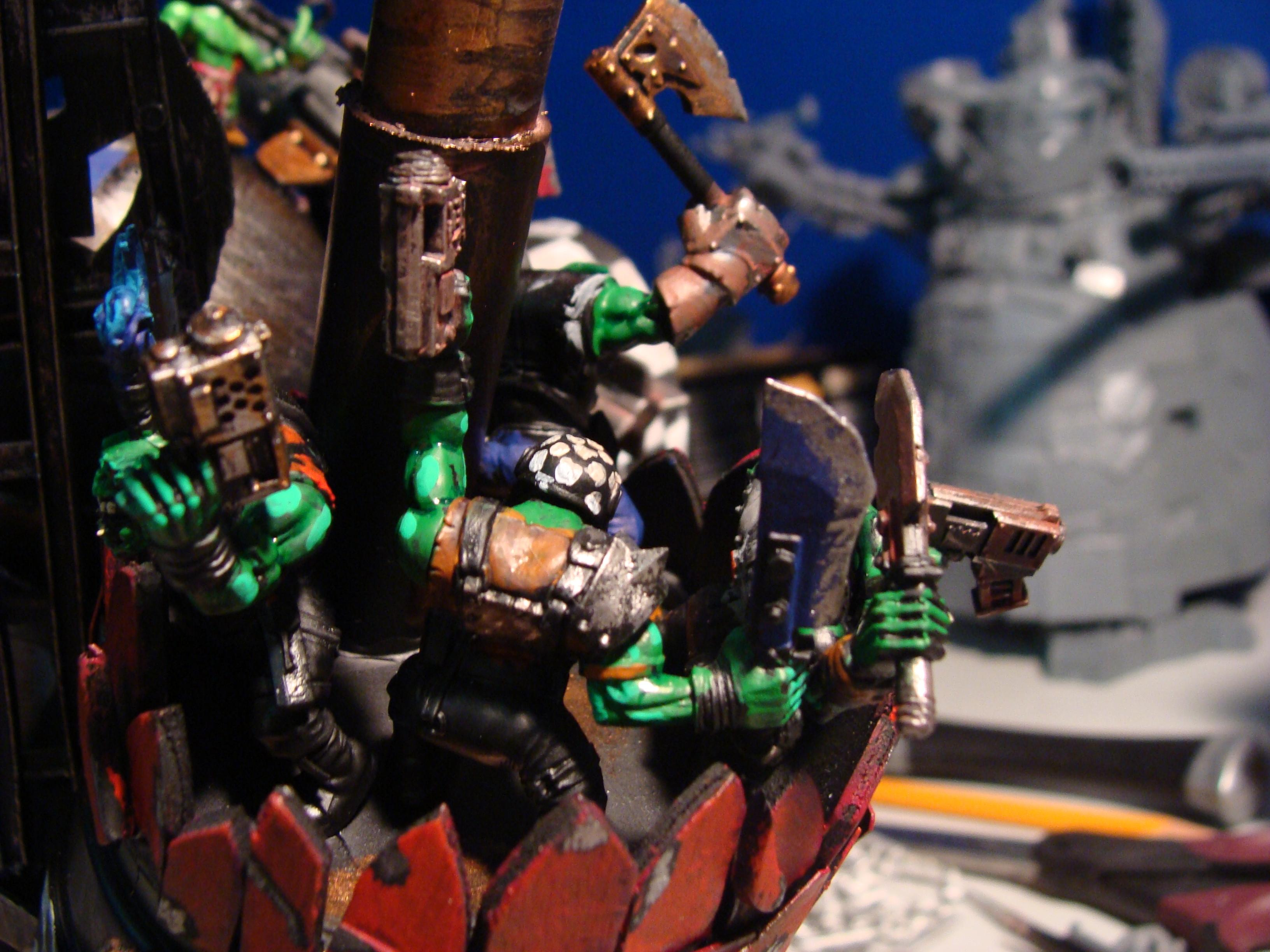Orks, Scratch Build, Stompa, Tater Titan, Work In Progress