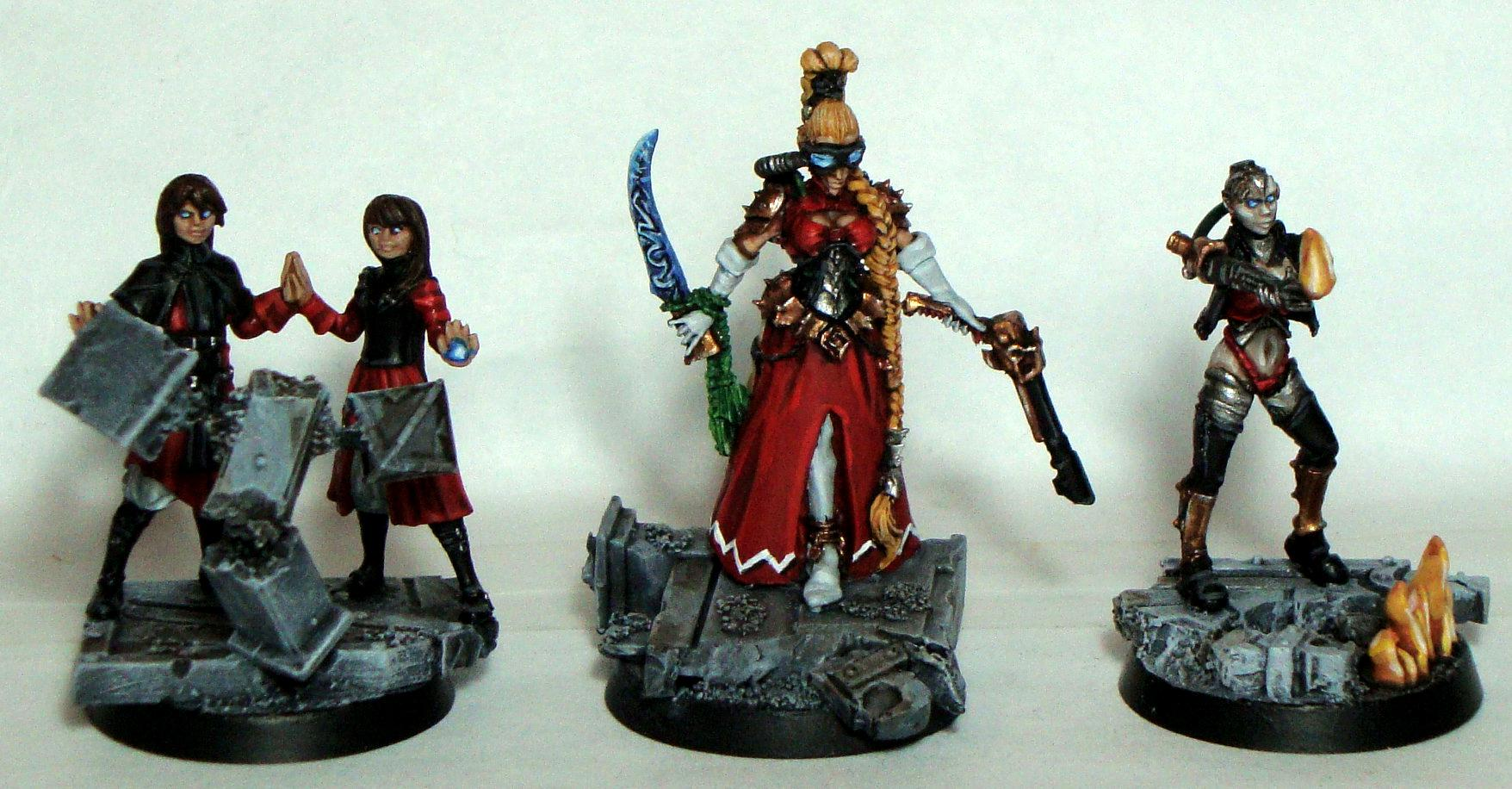 Chaos, Imperial Guard, Lost And The Damned, Psyker, Red Rebellion Truthbringers, Renegade, Traitor