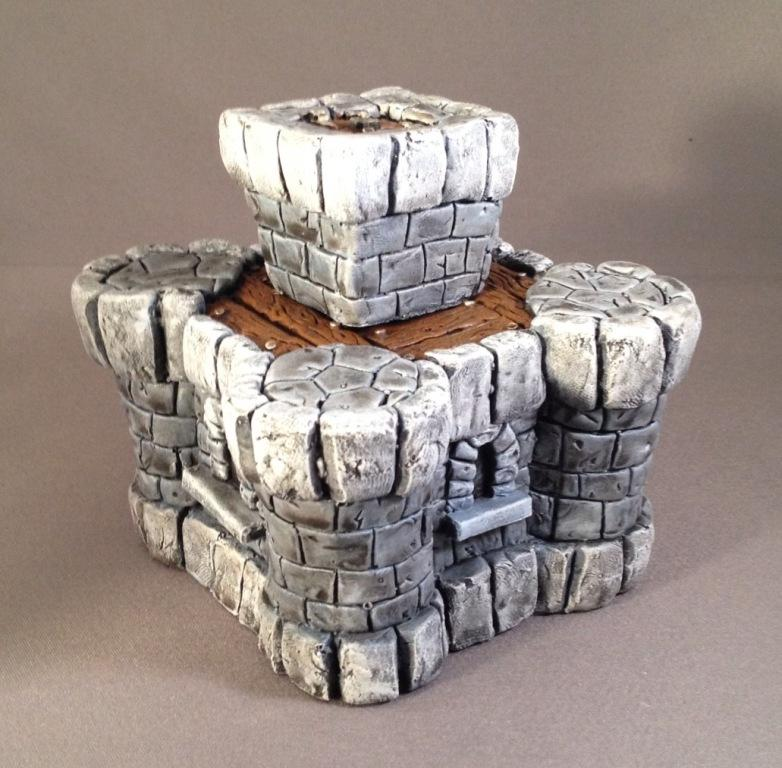 Chibi, Fort, Impact! Miniatures, Tower
