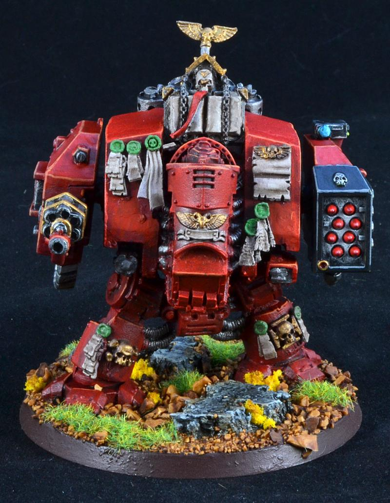 Dreadnought, Exorcists, Grey Knights, Space Marines, Warhammer 40,000