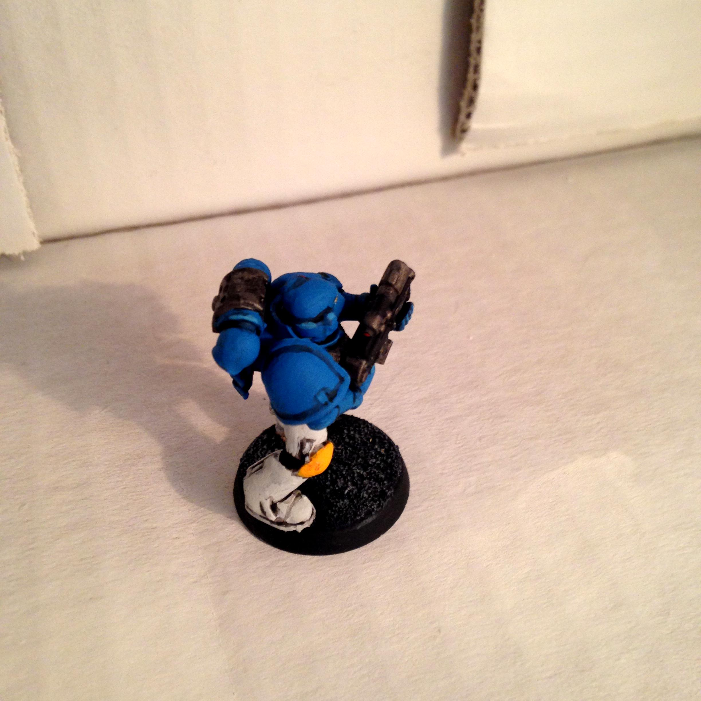 Musketeer, Painting, Space Marines, Test