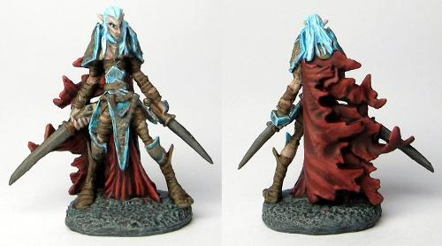 Dark Elves, Bones Dark Elf Warrior