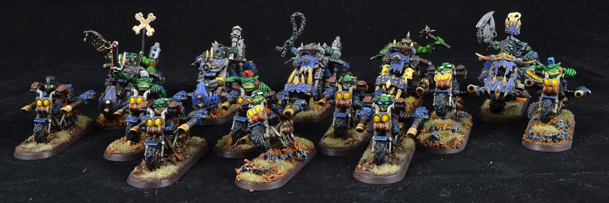 Orks, Warbikers, Warhammer 40,000