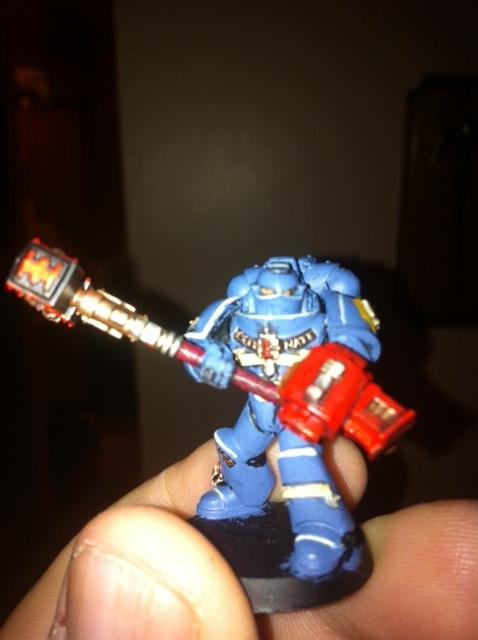 last of the 5 man squad deamon hammer