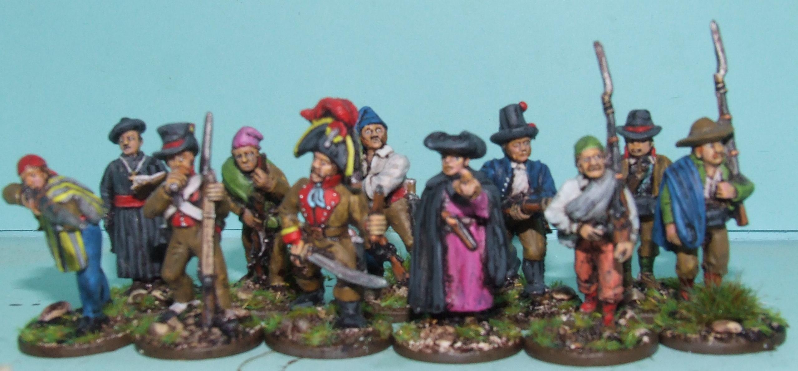Civilians, Militia, Napoleonic, Spanish