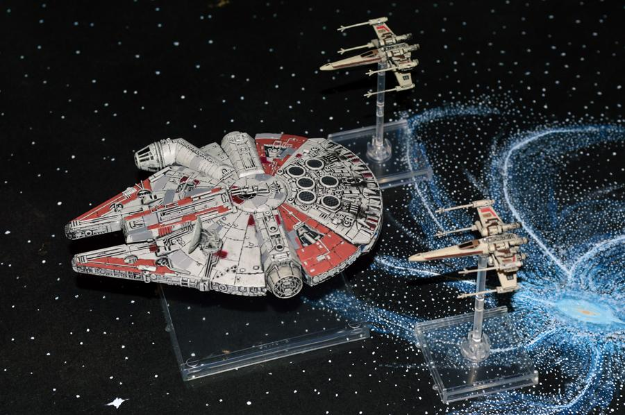 Millennium Falcon, Star Wars, X-Wing