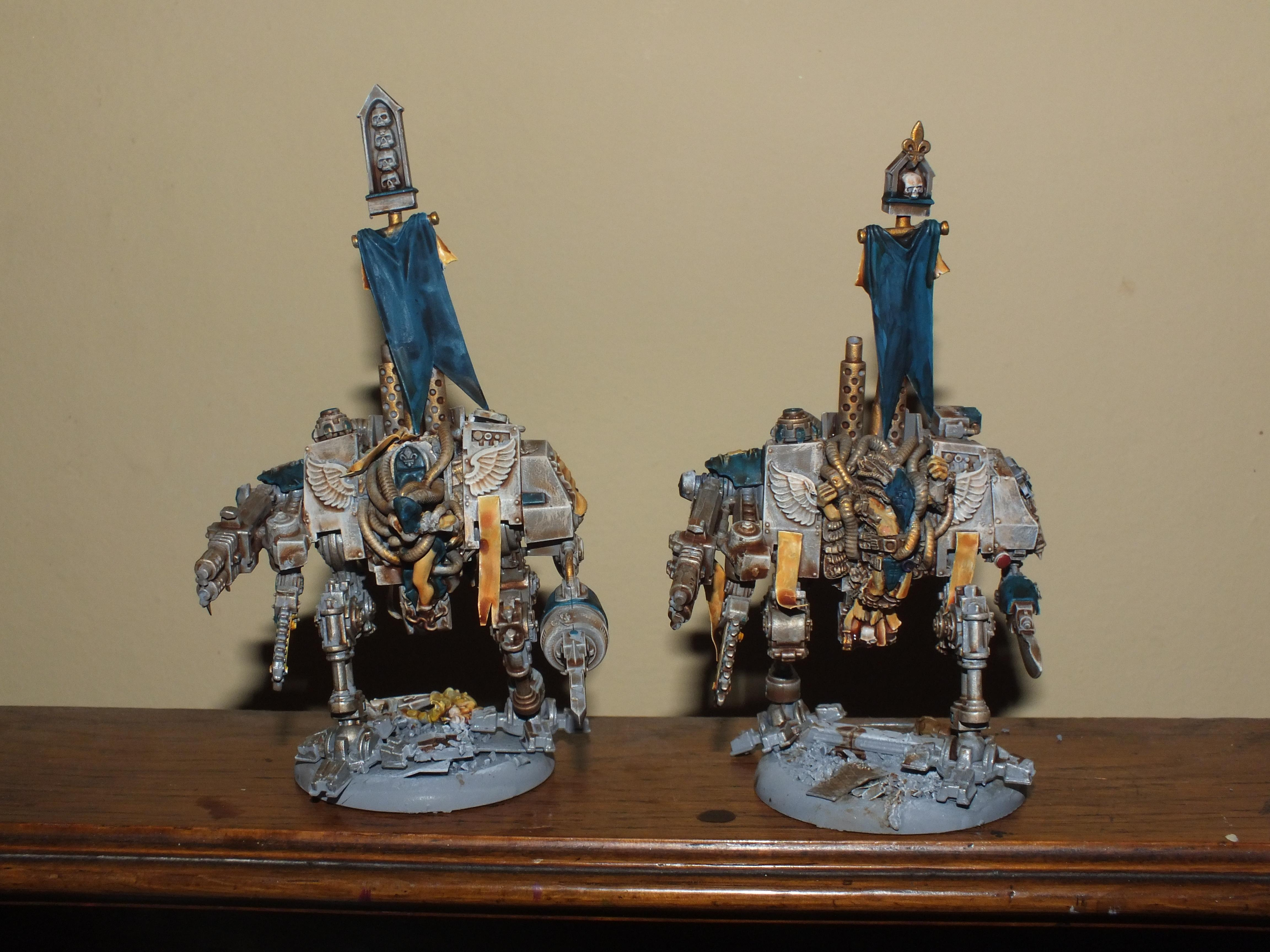 Sisters Of Battle, Penitent Engines continued