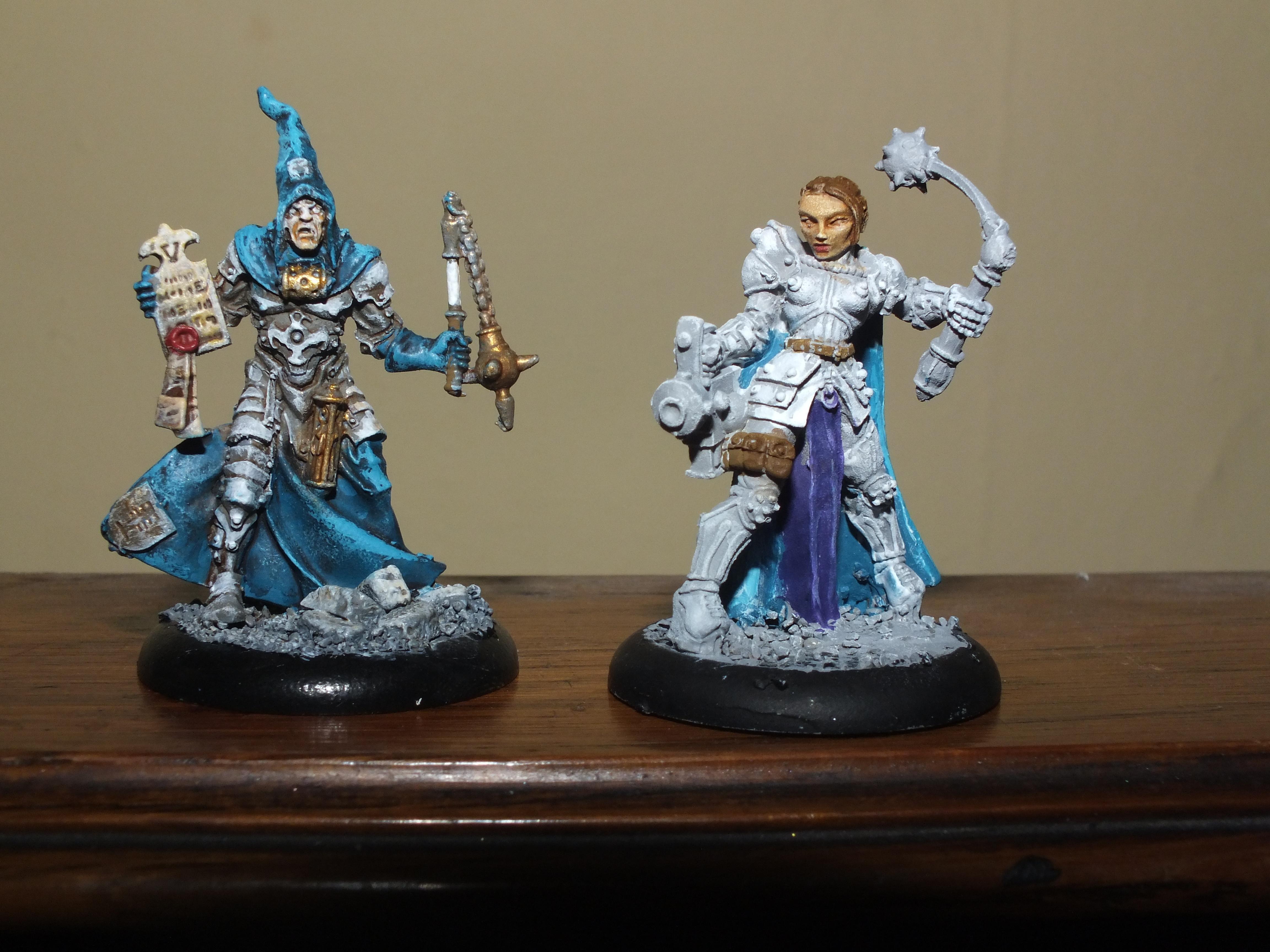 Sisters Of Battle, Acolyte and Kyrinova
