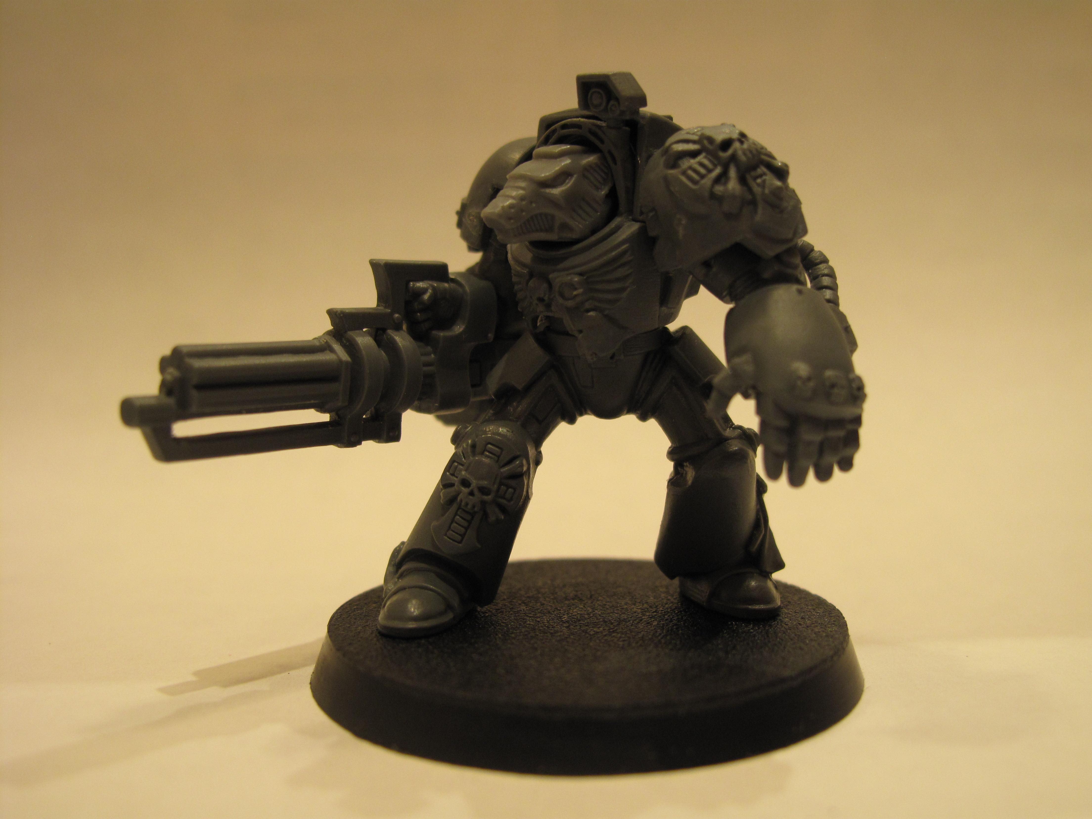 Space Marines, Terminator Armor, Warhammer 40,000, Work In Progress