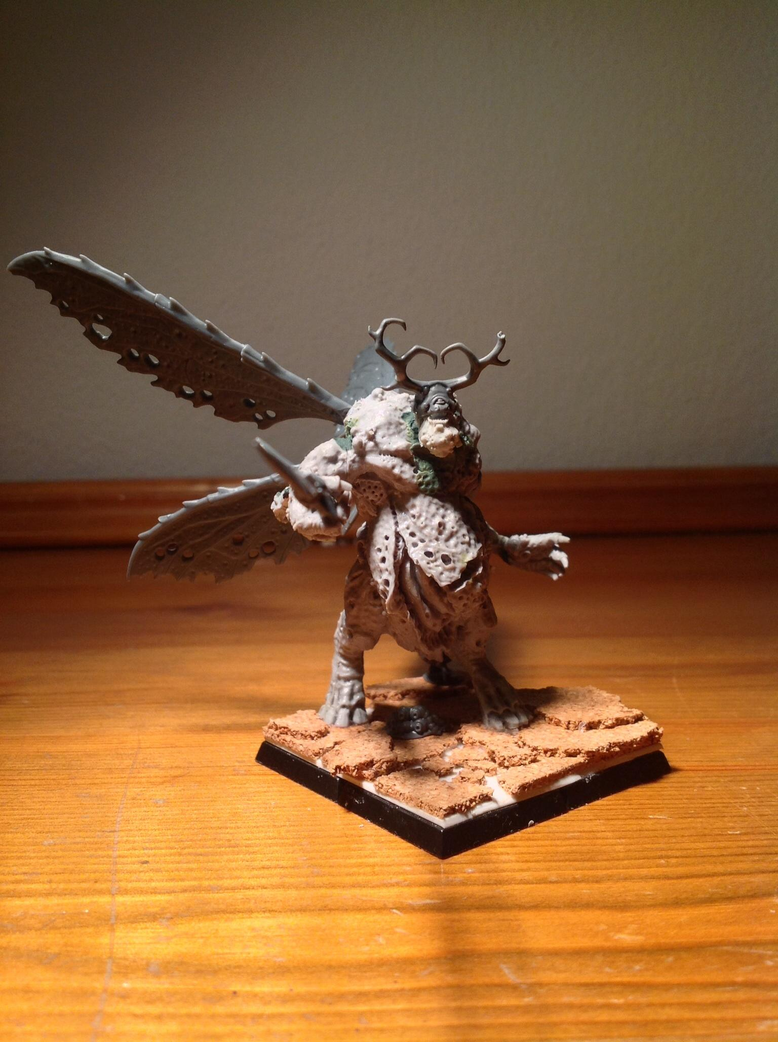 Antlers, Chaos, Daemons, Fly, Nurgle, Plague