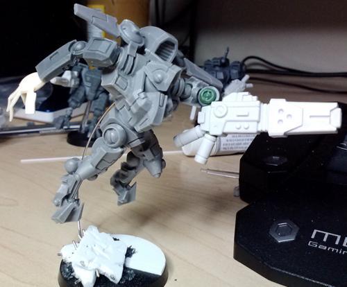 Commander, Onager Gauntlet, Tau, Xv-9