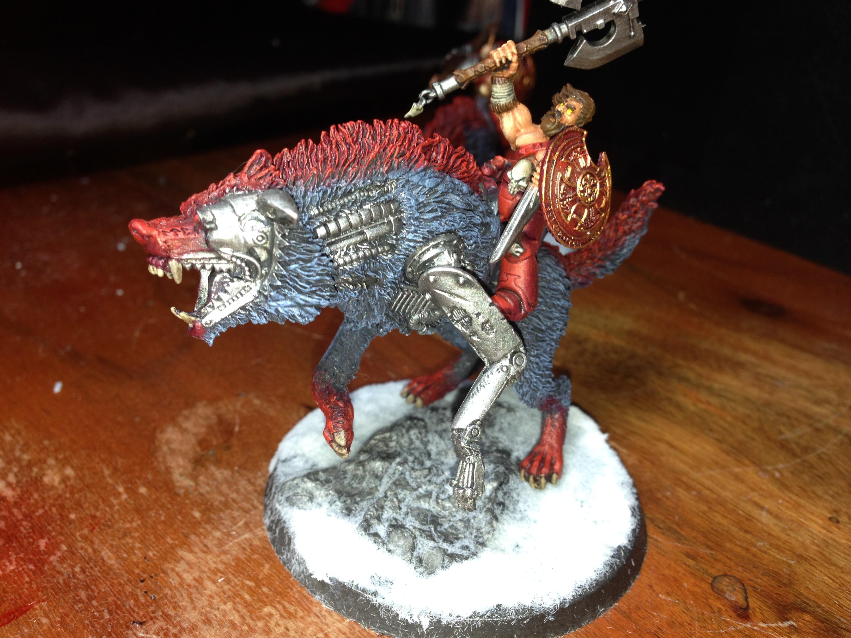 He-man, Space Wolves, Thunder Wolf