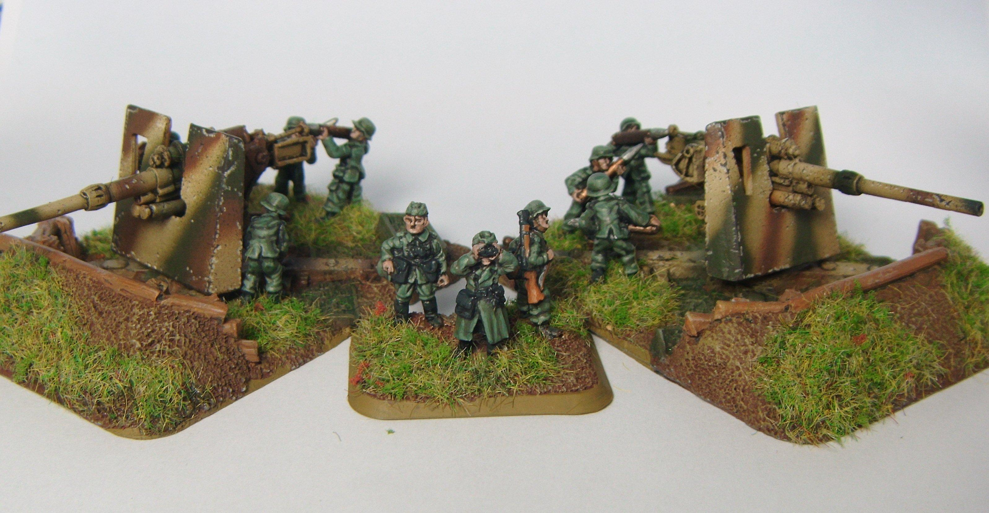 Flak 88, Flames Of War, Germans