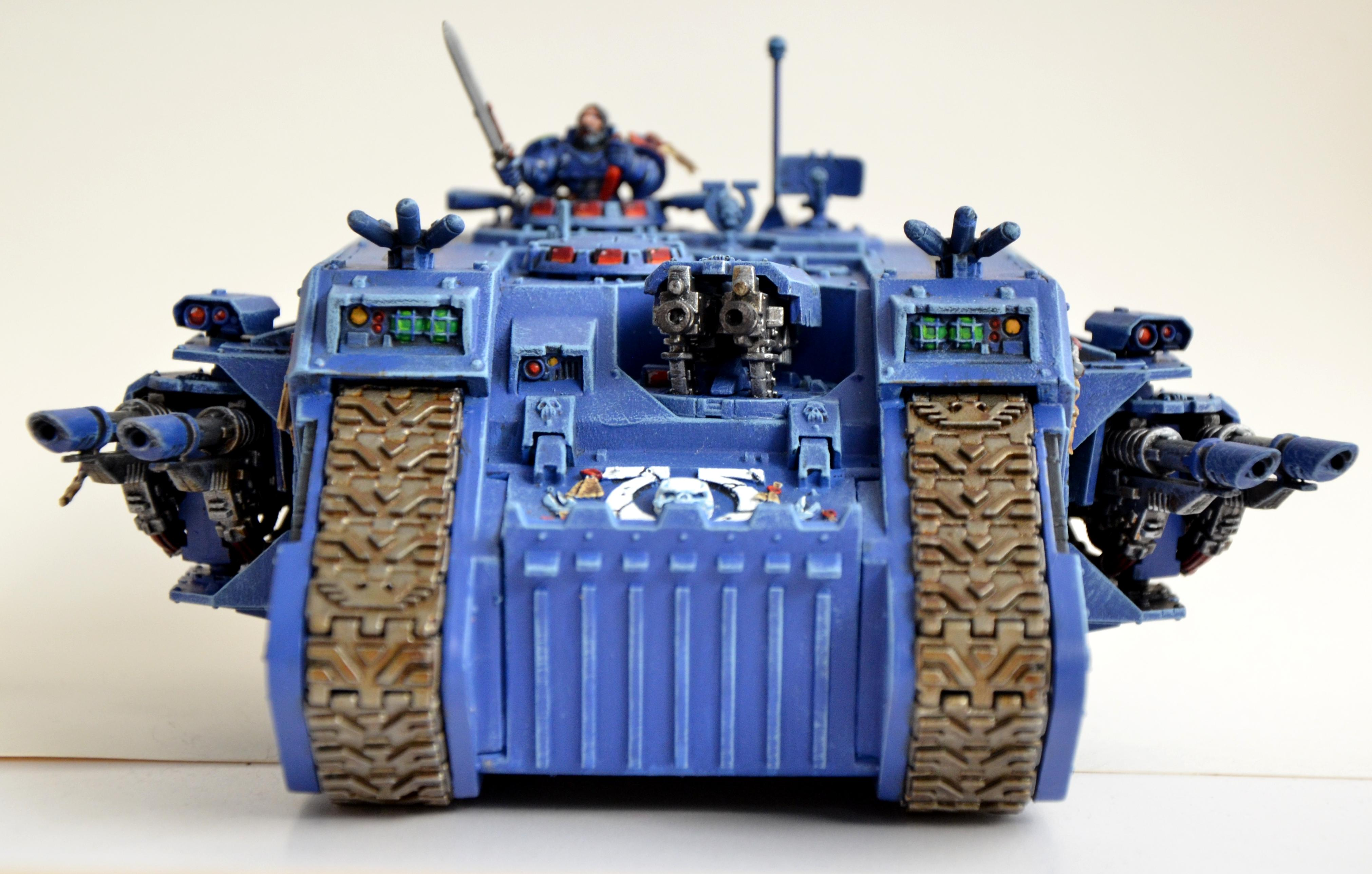 Forge World, Headquarters, Land Raider, Ultramarines