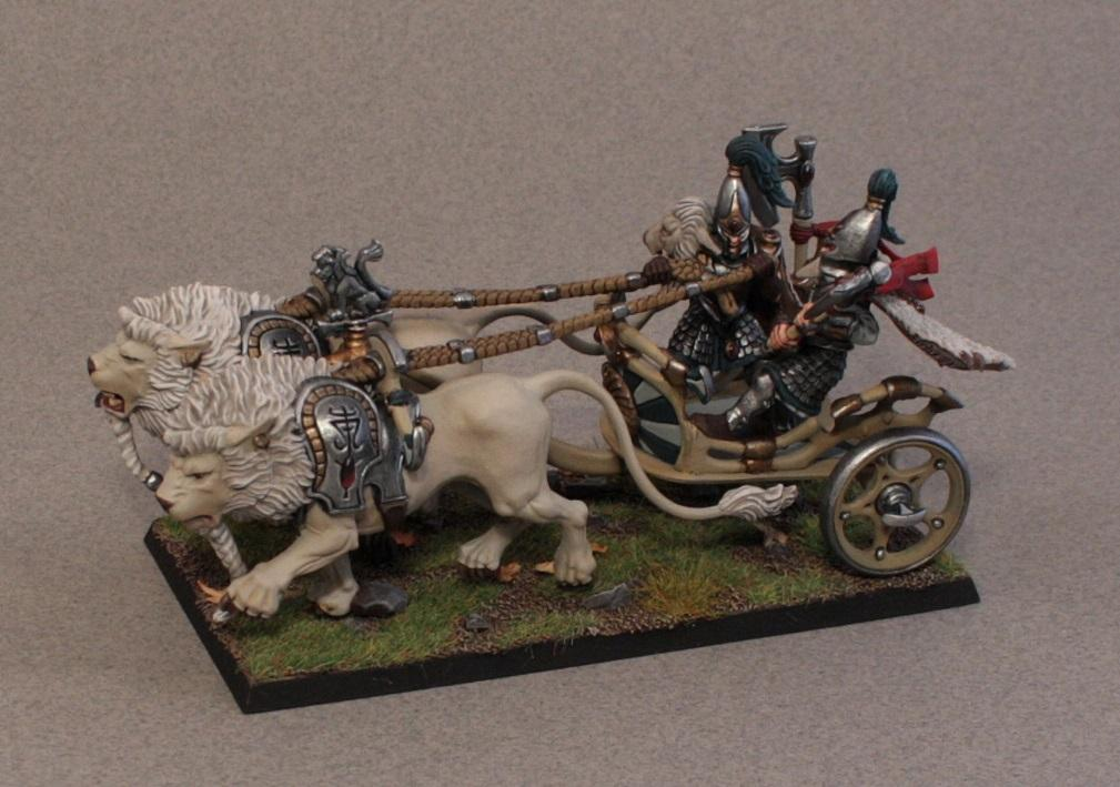 Chariot, High Elves, Lion