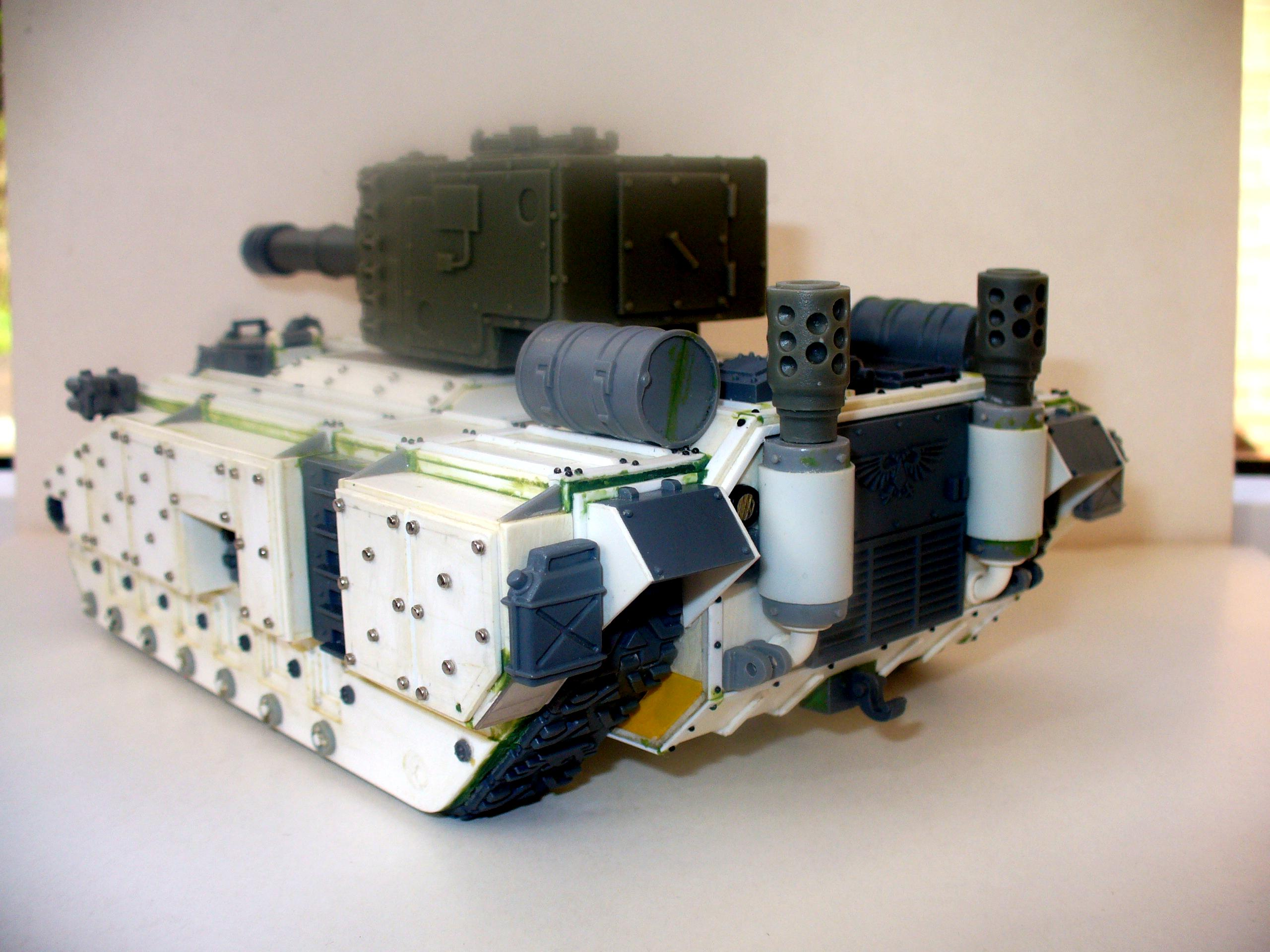 Plasticard, Rivets, Scratch Build, Tank
