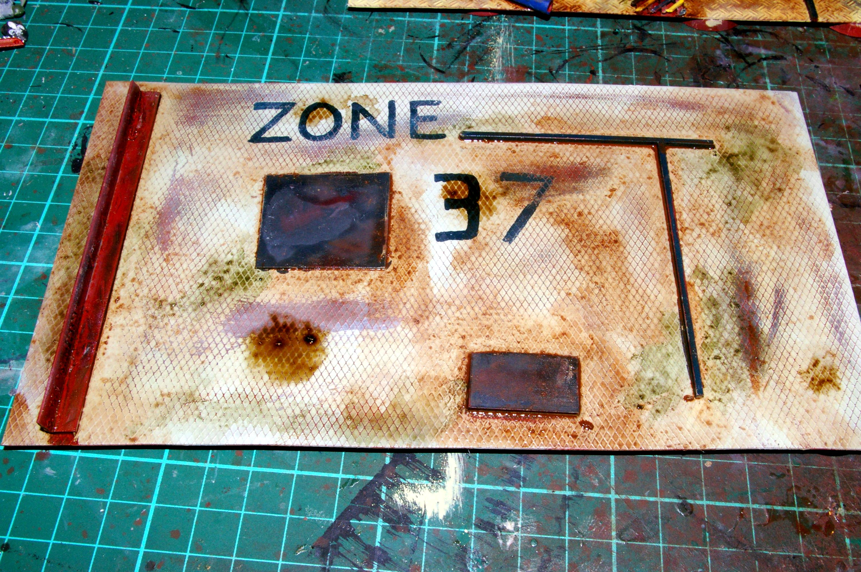 Weathering effects added